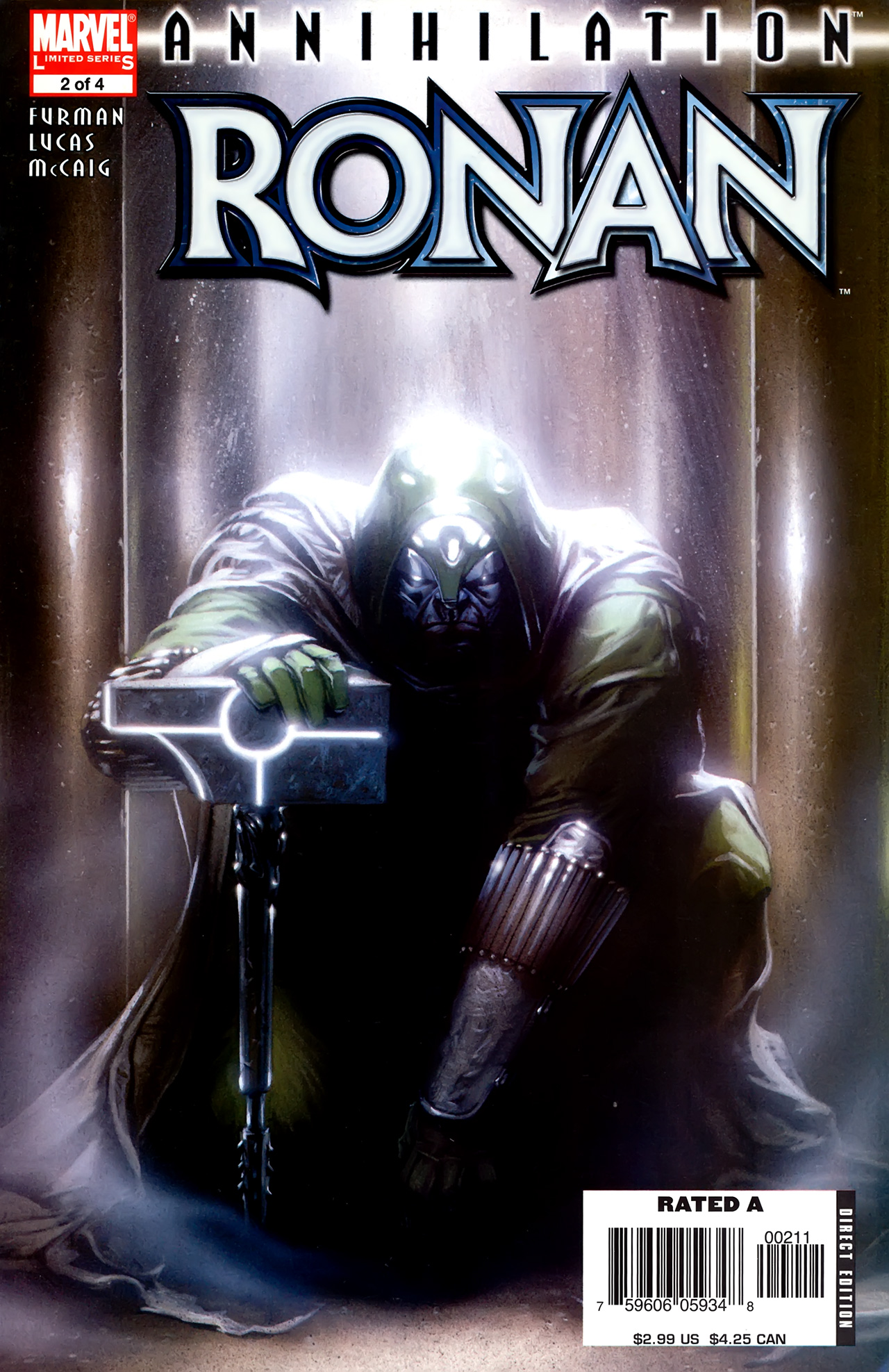 Read online Annihilation: Ronan comic -  Issue #2 - 1