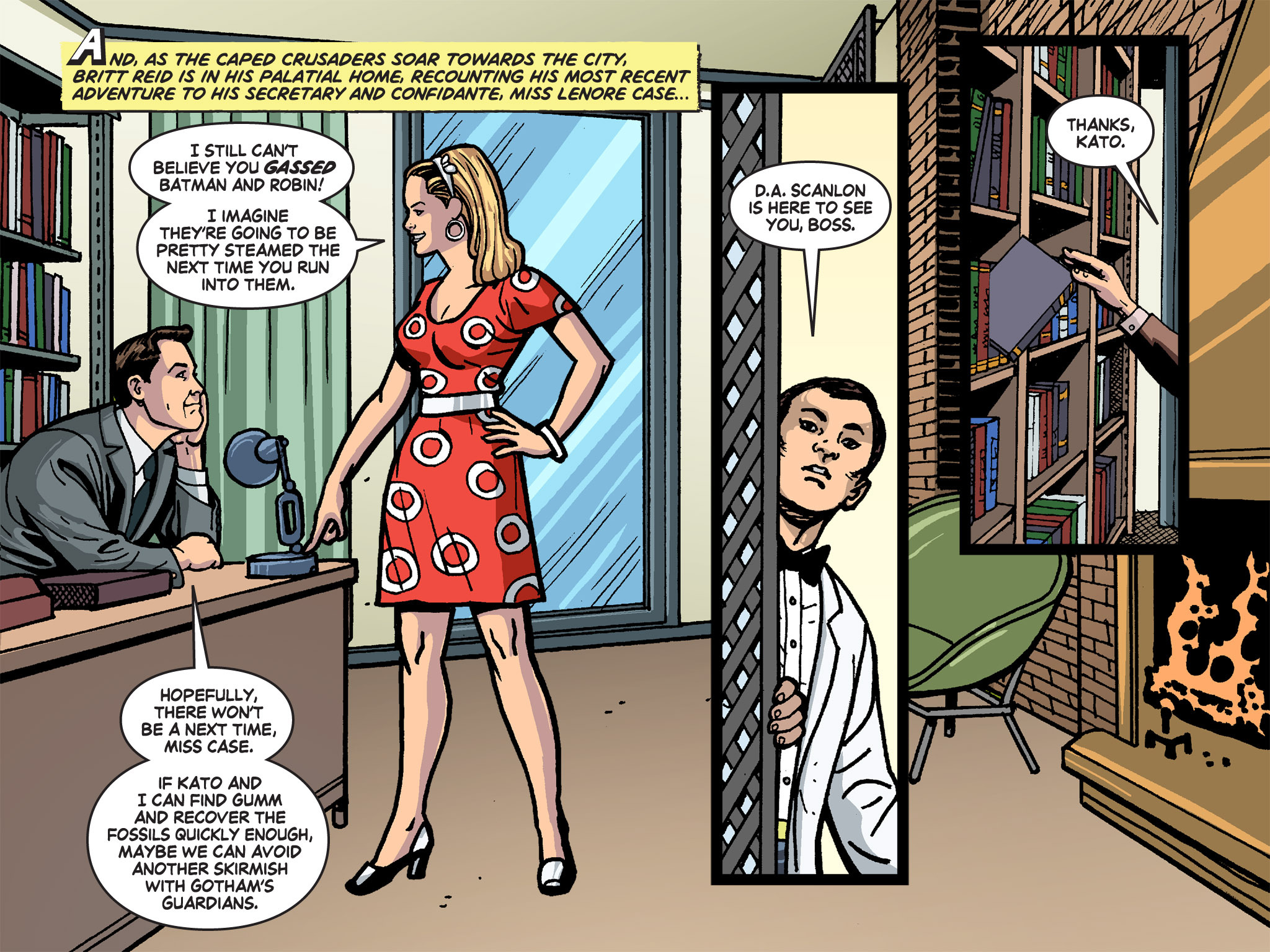 Read online Batman '66 Meets the Green Hornet [II] comic -  Issue #4 - 43