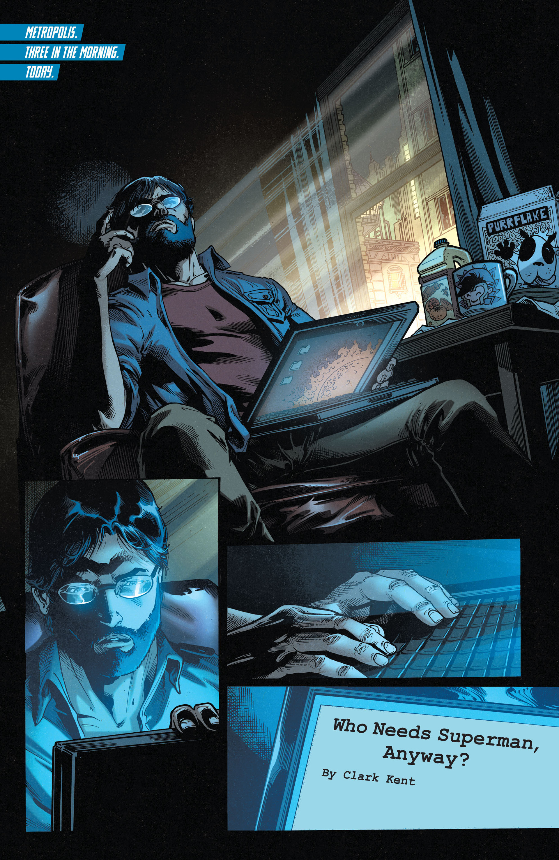 Read online Action Comics (2011) comic -  Issue #35 - 2