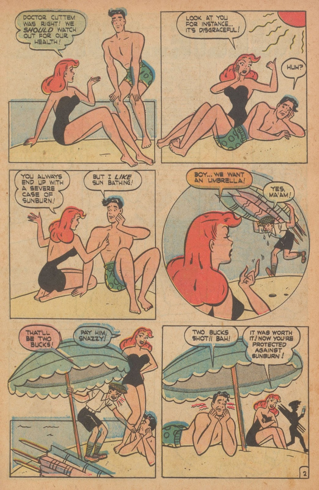 Read online Nellie The Nurse (1945) comic -  Issue #22 - 12