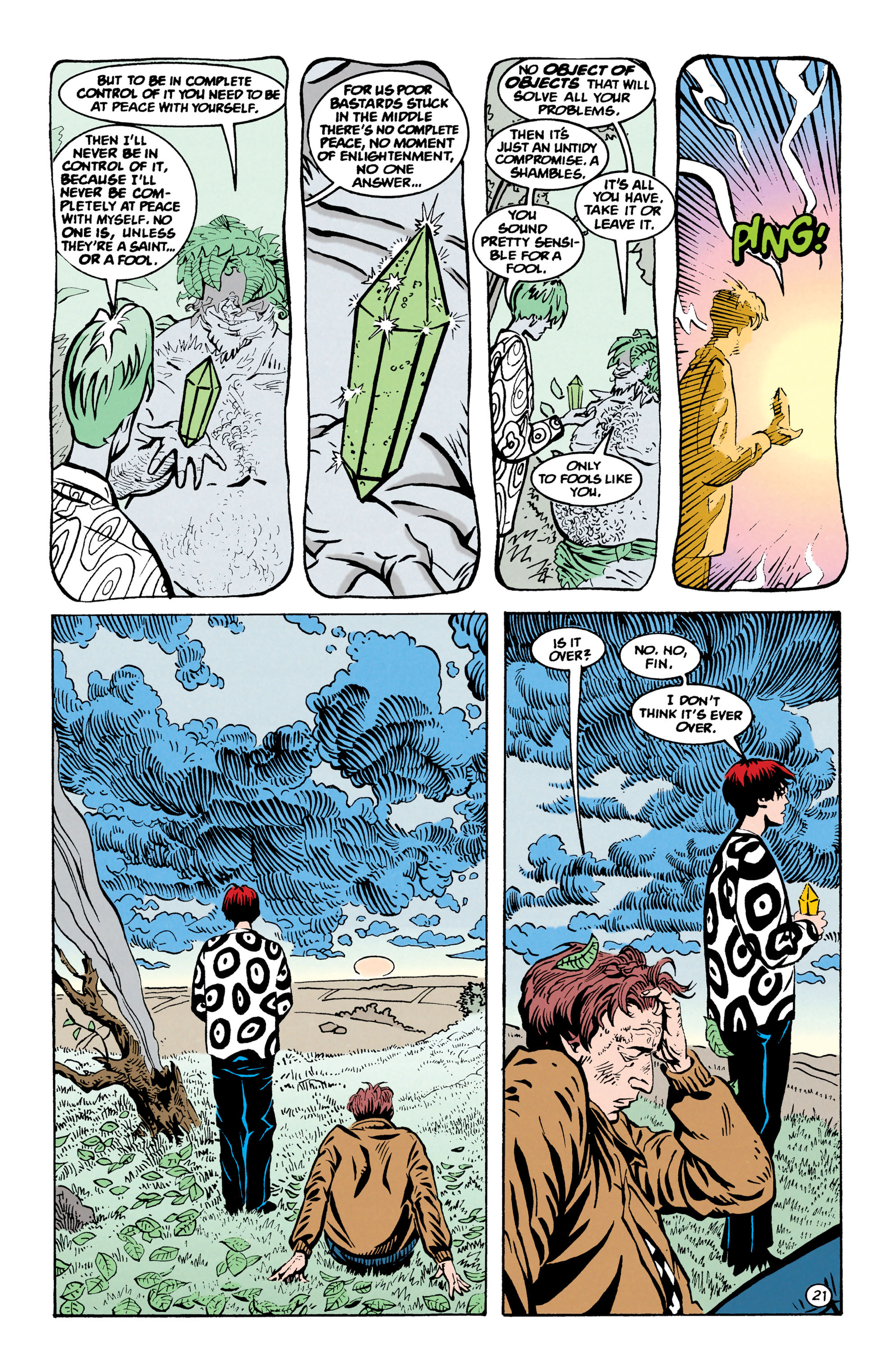 Read online Shade, the Changing Man comic -  Issue #67 - 22