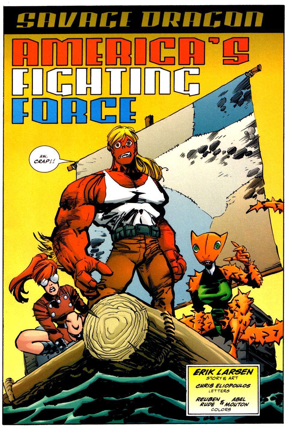 The Savage Dragon (1993) Issue #93 #96 - English 3