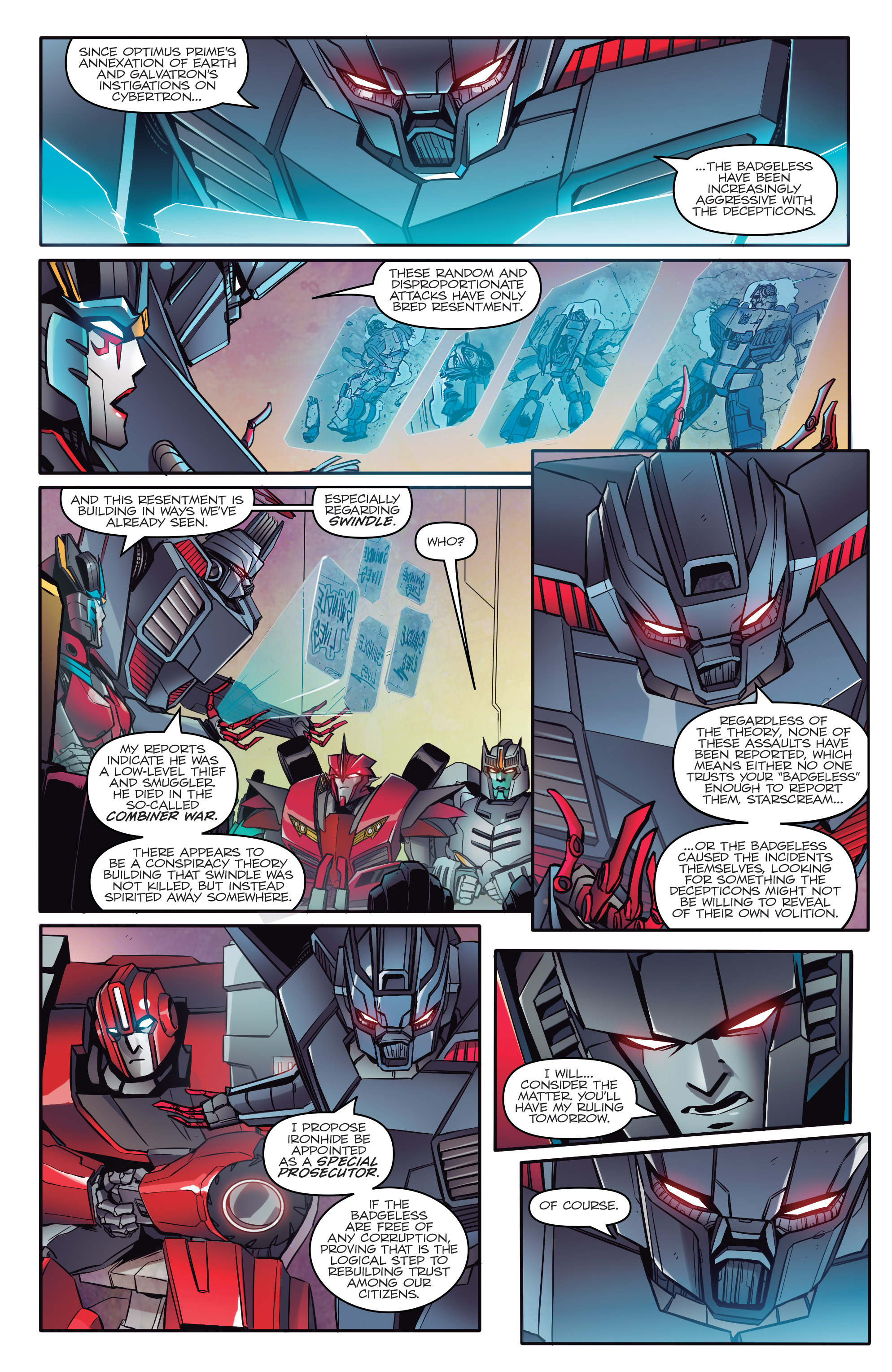 Read online Transformers: Till All Are One comic -  Issue #1 - 7