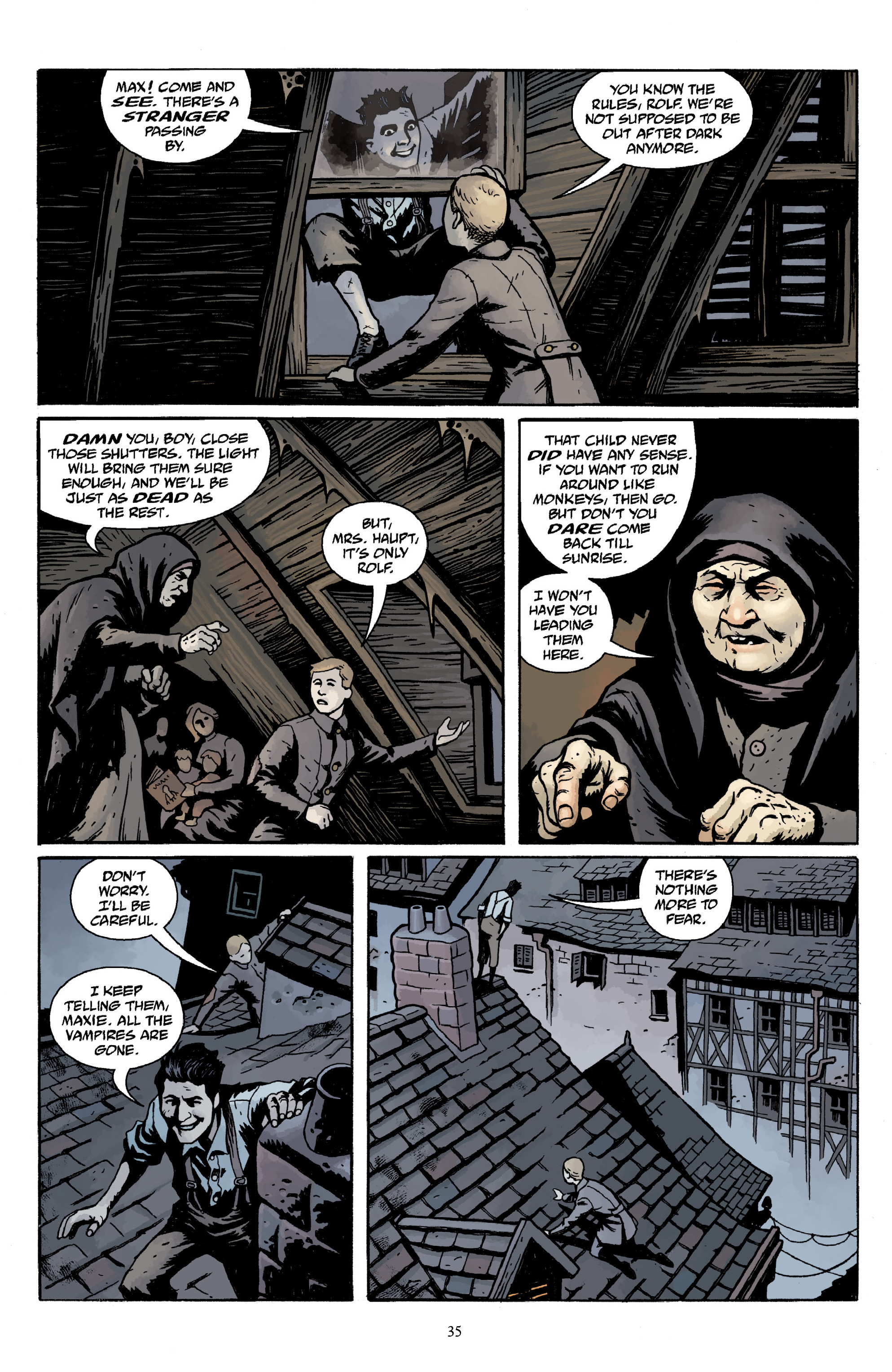 Read online Baltimore Volume 3: A Passing Stranger and Other Stories comic -  Issue # Full - 37
