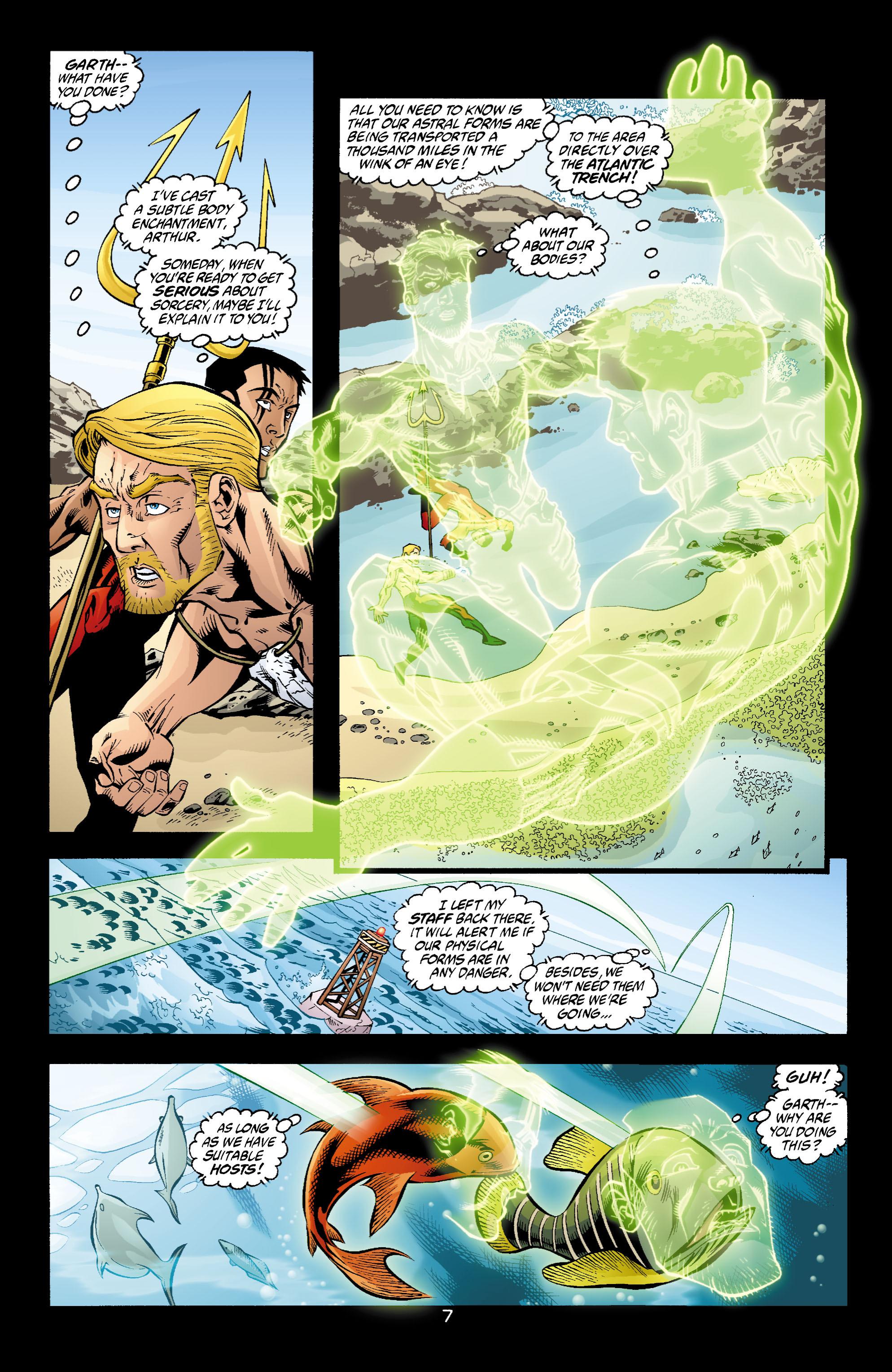 Read online Aquaman (2003) comic -  Issue #4 - 8
