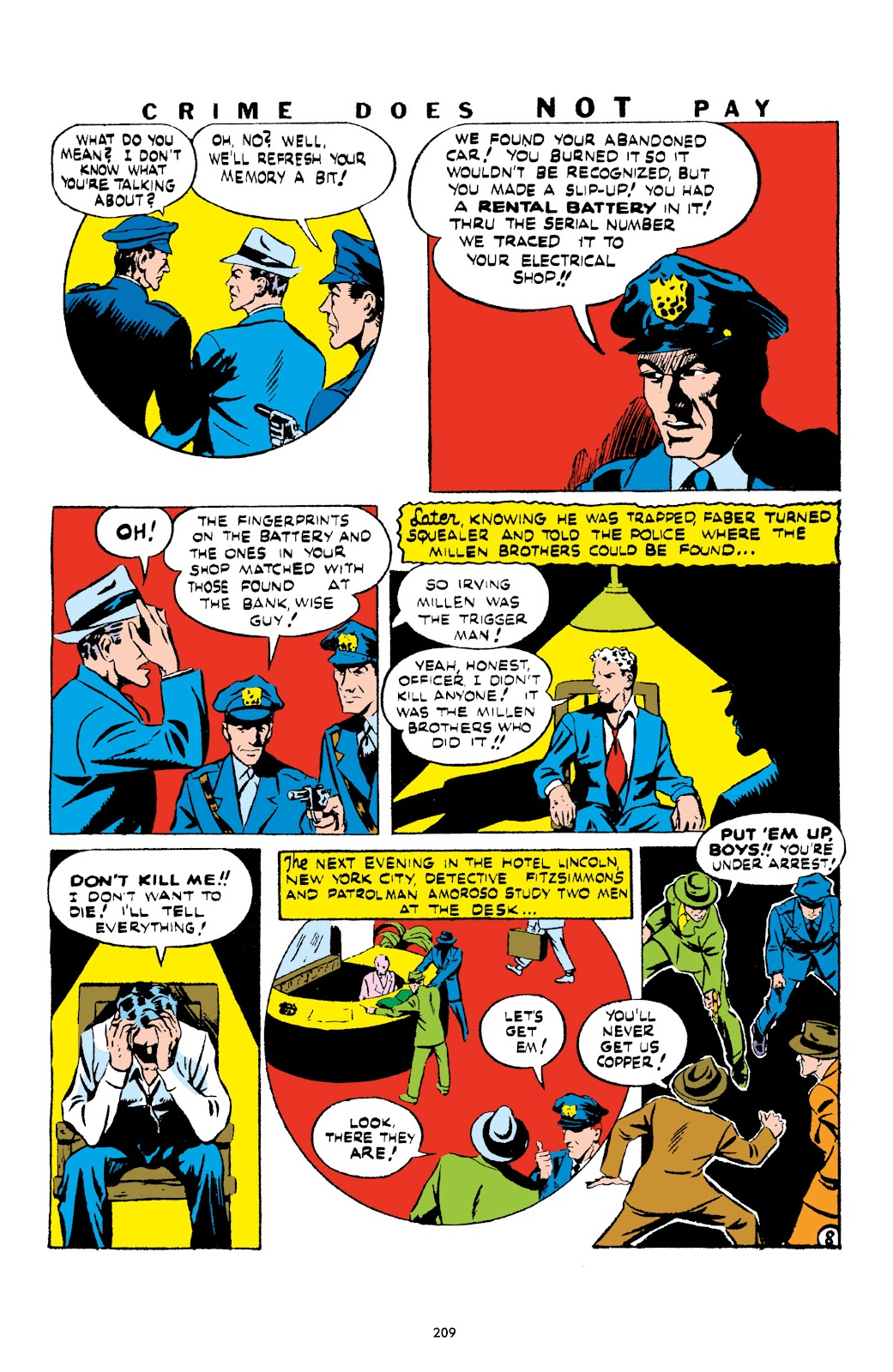 Read online Crime Does Not Pay Archives comic -  Issue # TPB 1 (Part 3) - 12