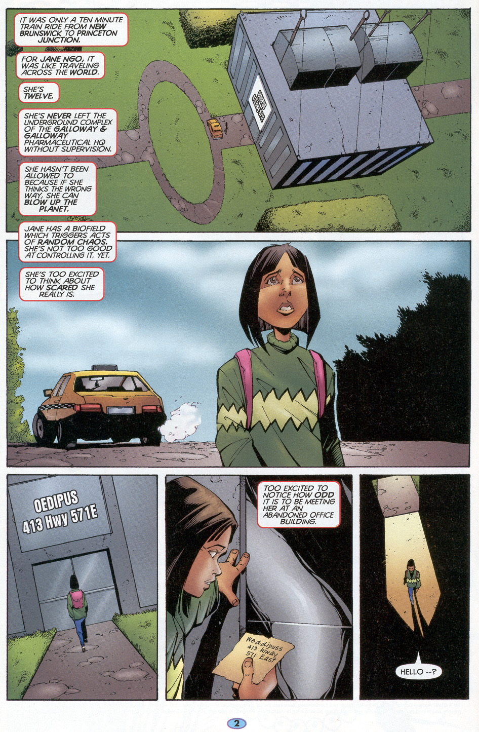 Read online Troublemakers comic -  Issue #7 - 3