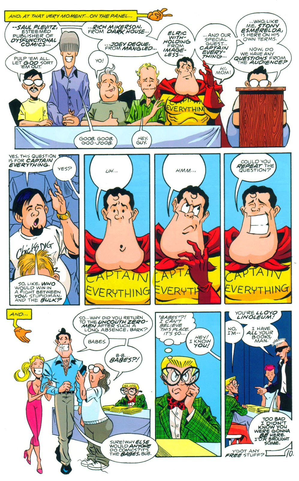 Read online Normalman 20th Anniversary Special comic -  Issue # Full - 12