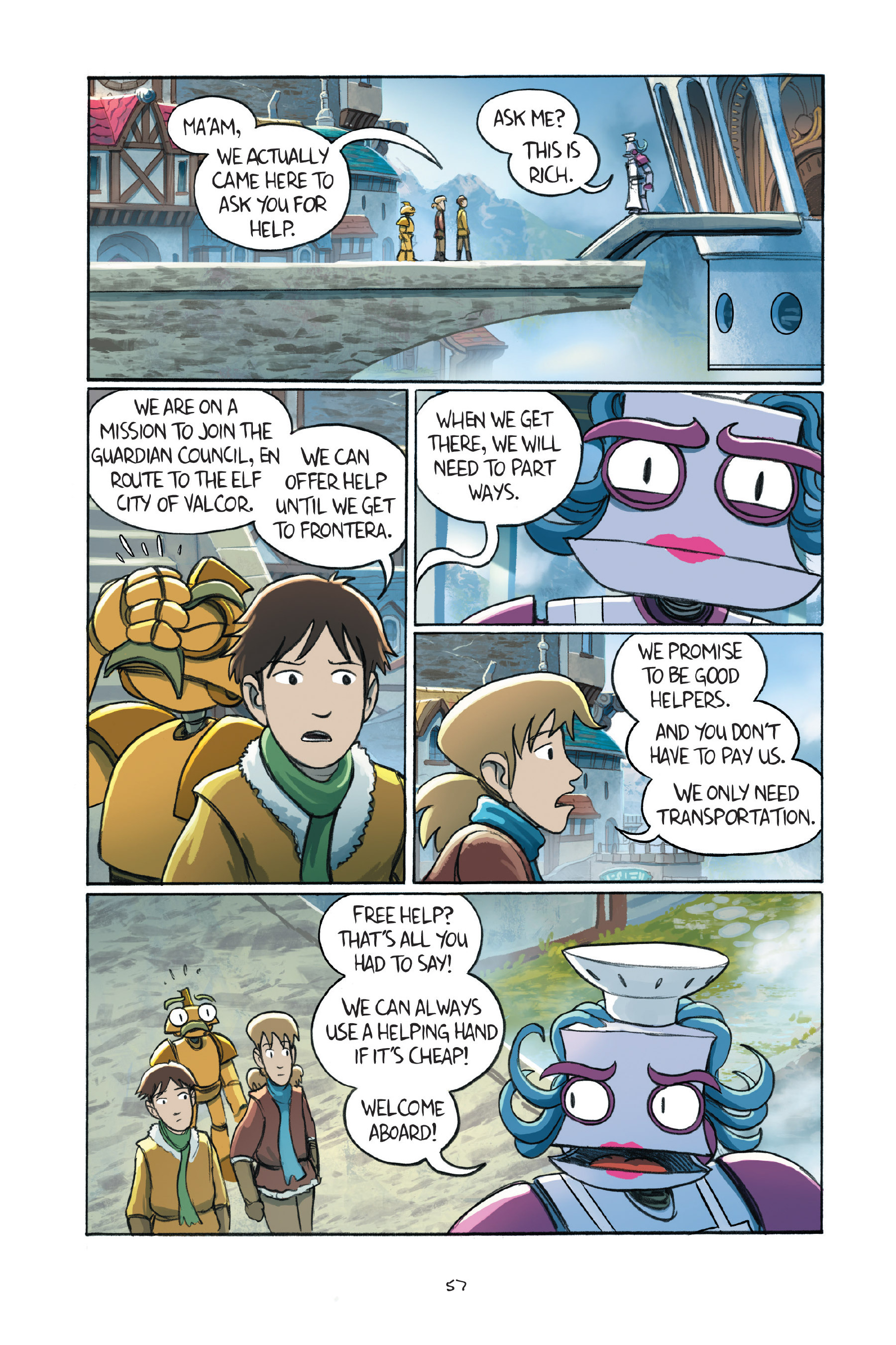 Read online Amulet comic -  Issue #7 - 59