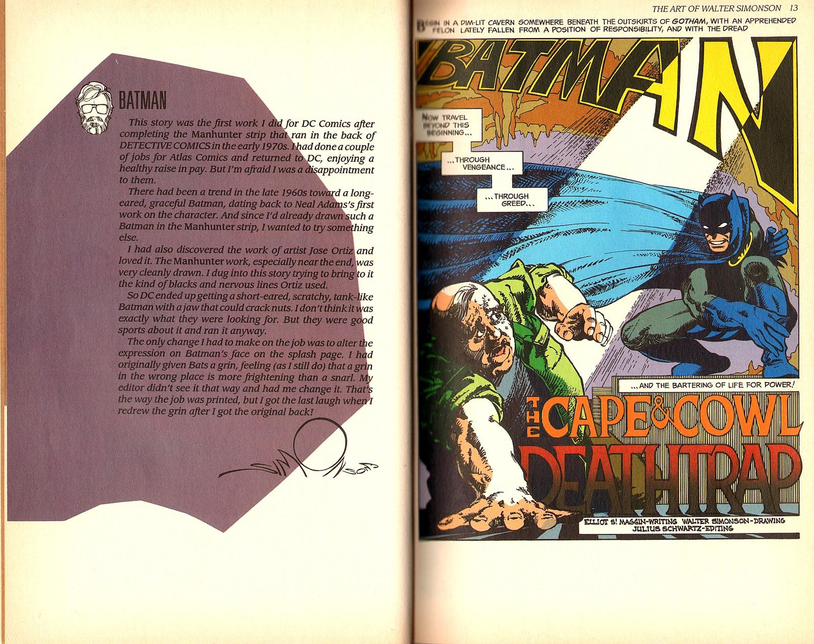 Read online The Art of Walter Simonson comic -  Issue # TPB - 8