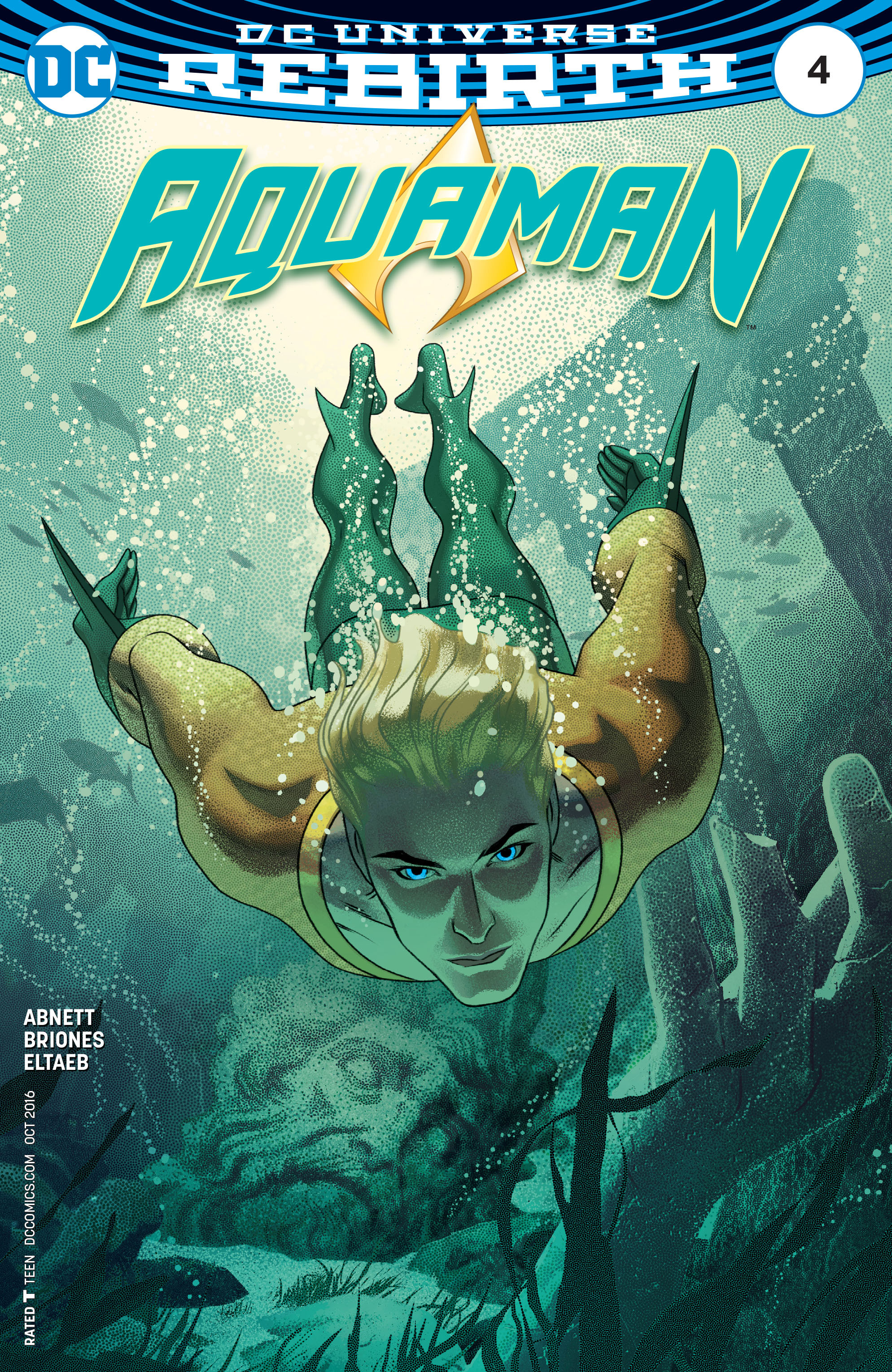 Read online Aquaman (2016) comic -  Issue #4 - 3