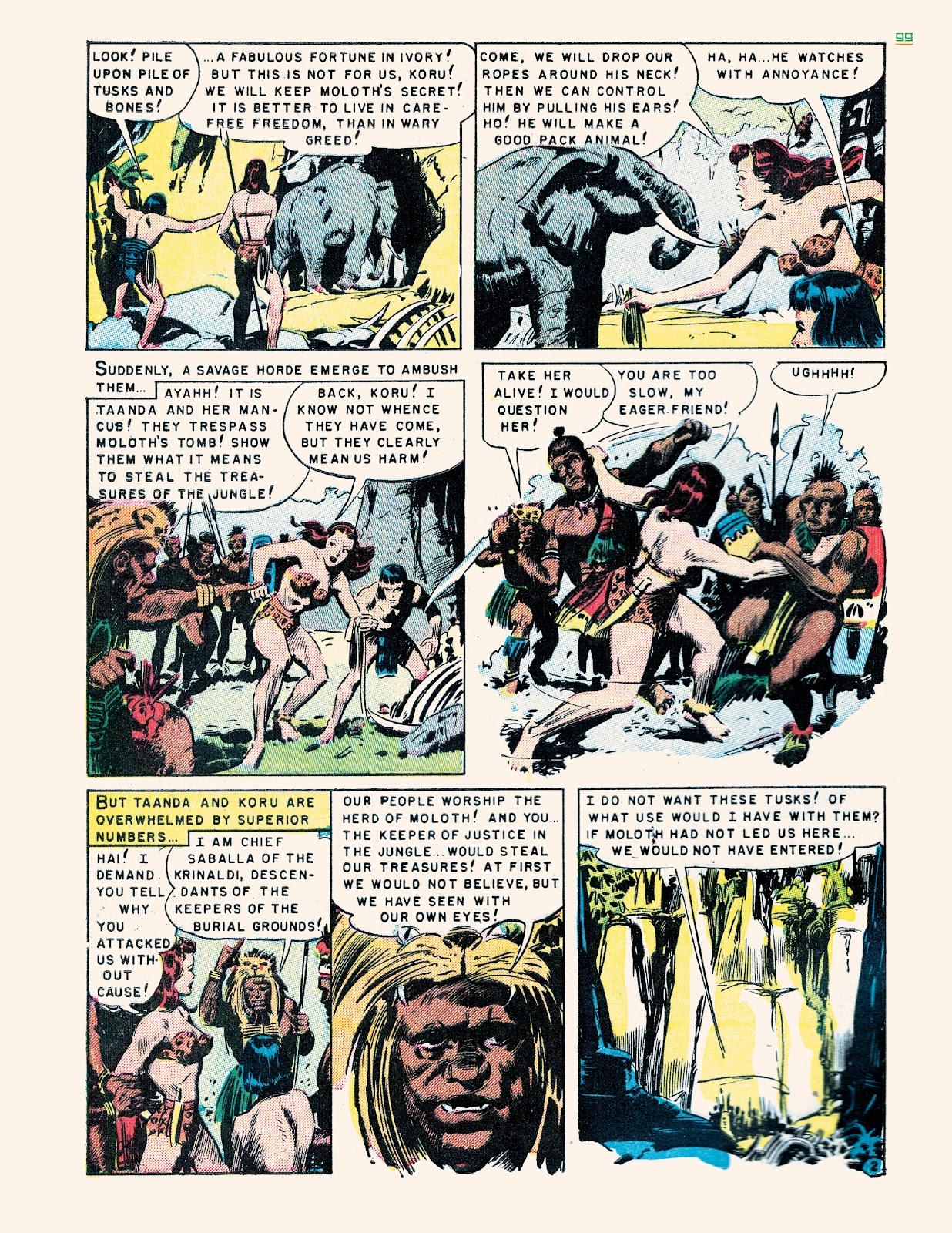Read online Jungle Girls comic -  Issue # TPB (Part 1) - 99