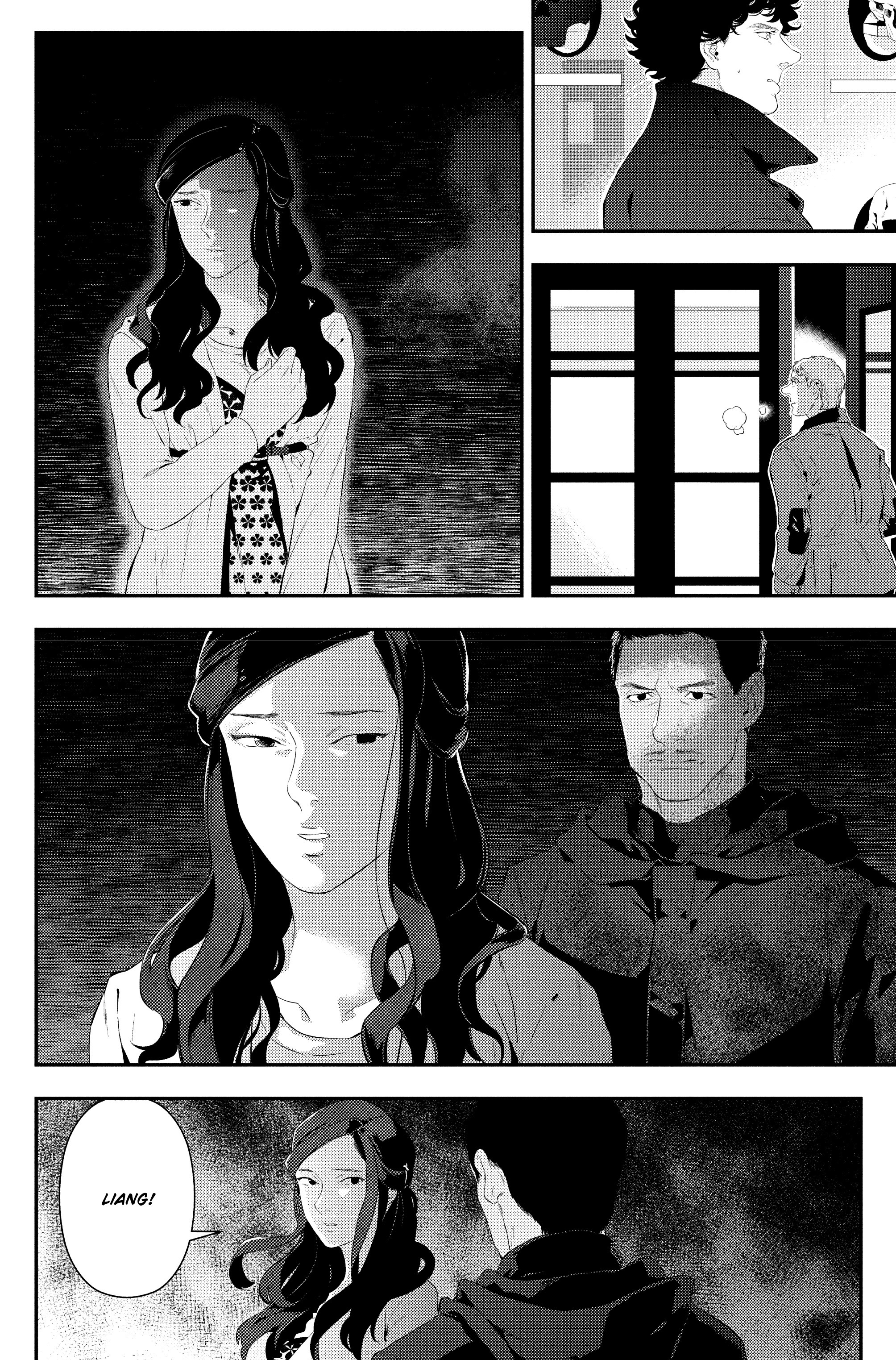 Read online Sherlock: The Blind Banker comic -  Issue #4 - 29
