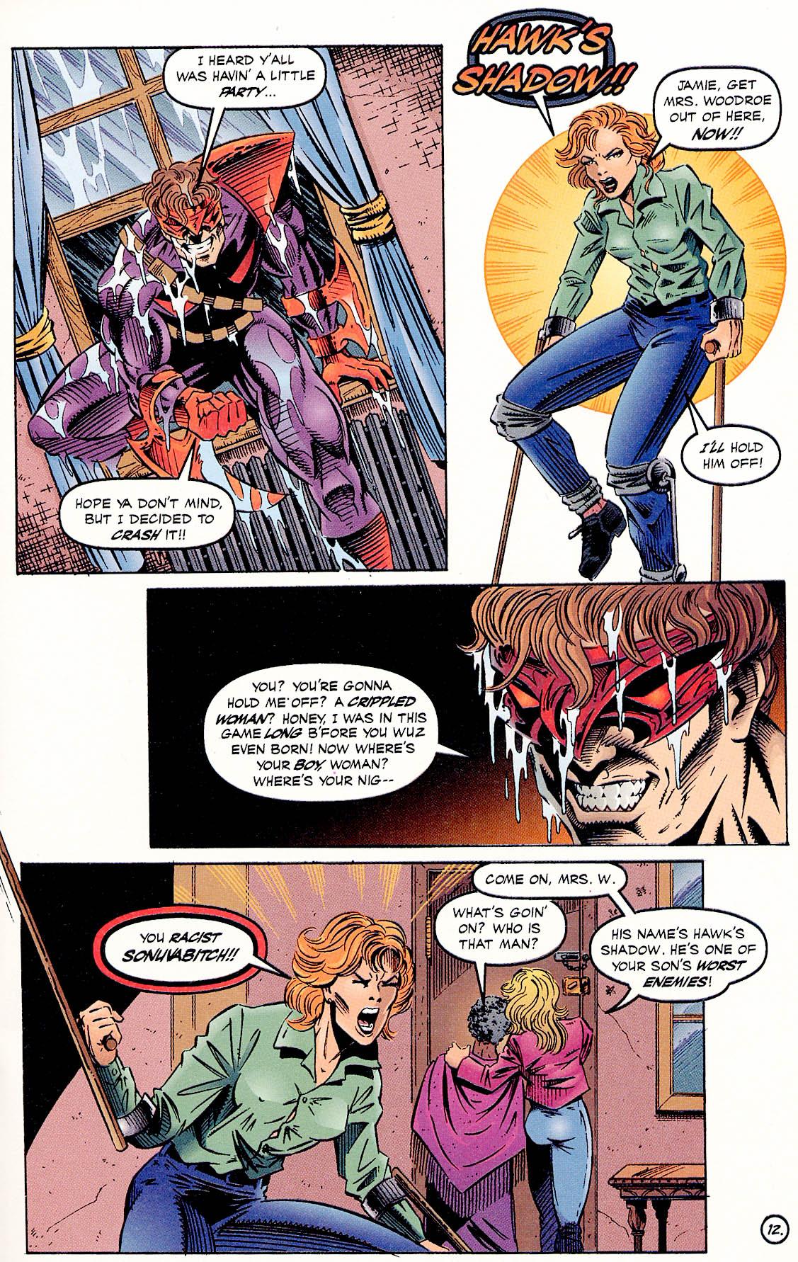 Read online ShadowHawk comic -  Issue #18 - 14
