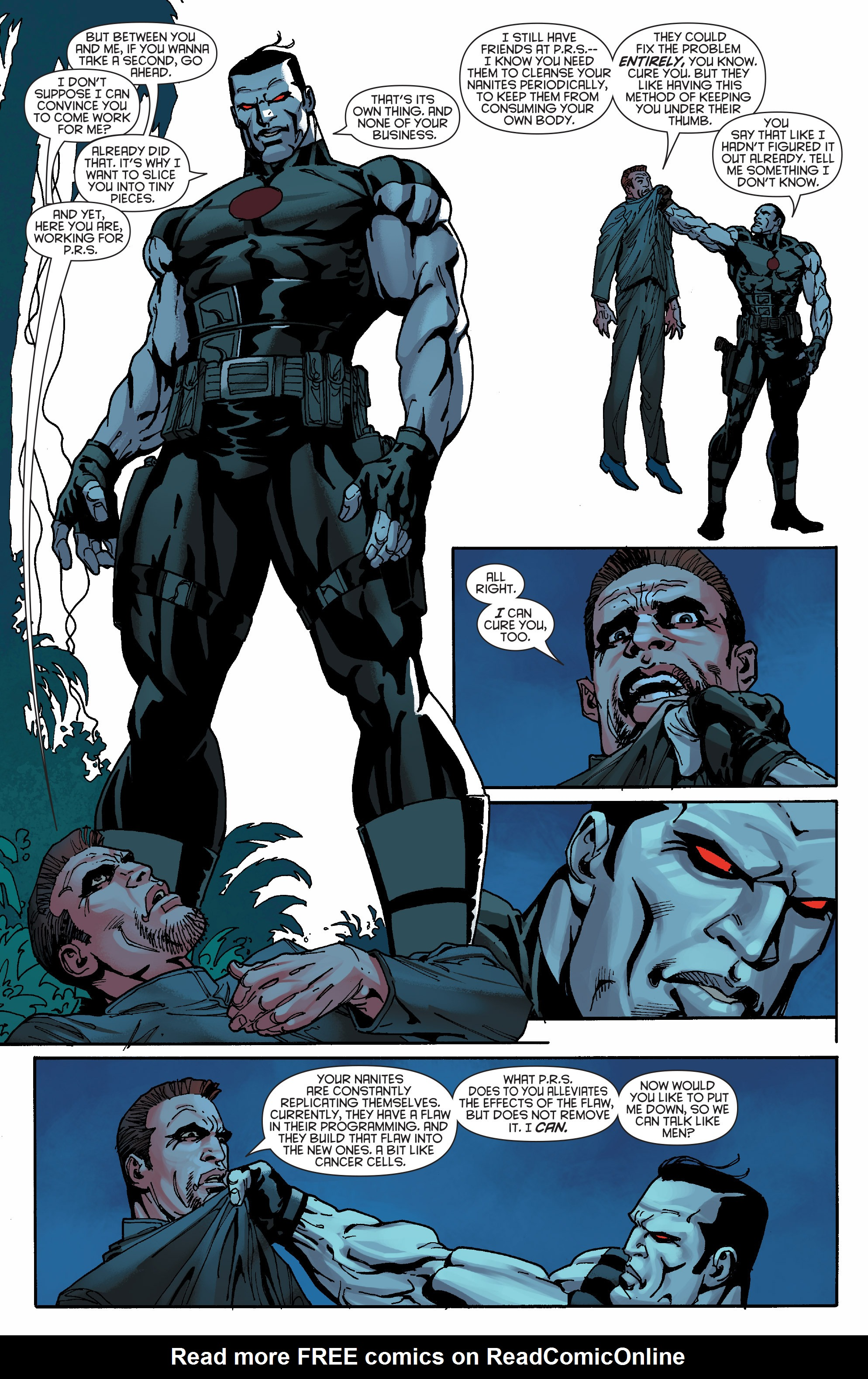 Read online Bloodshot and H.A.R.D.Corps comic -  Issue #19 - 18