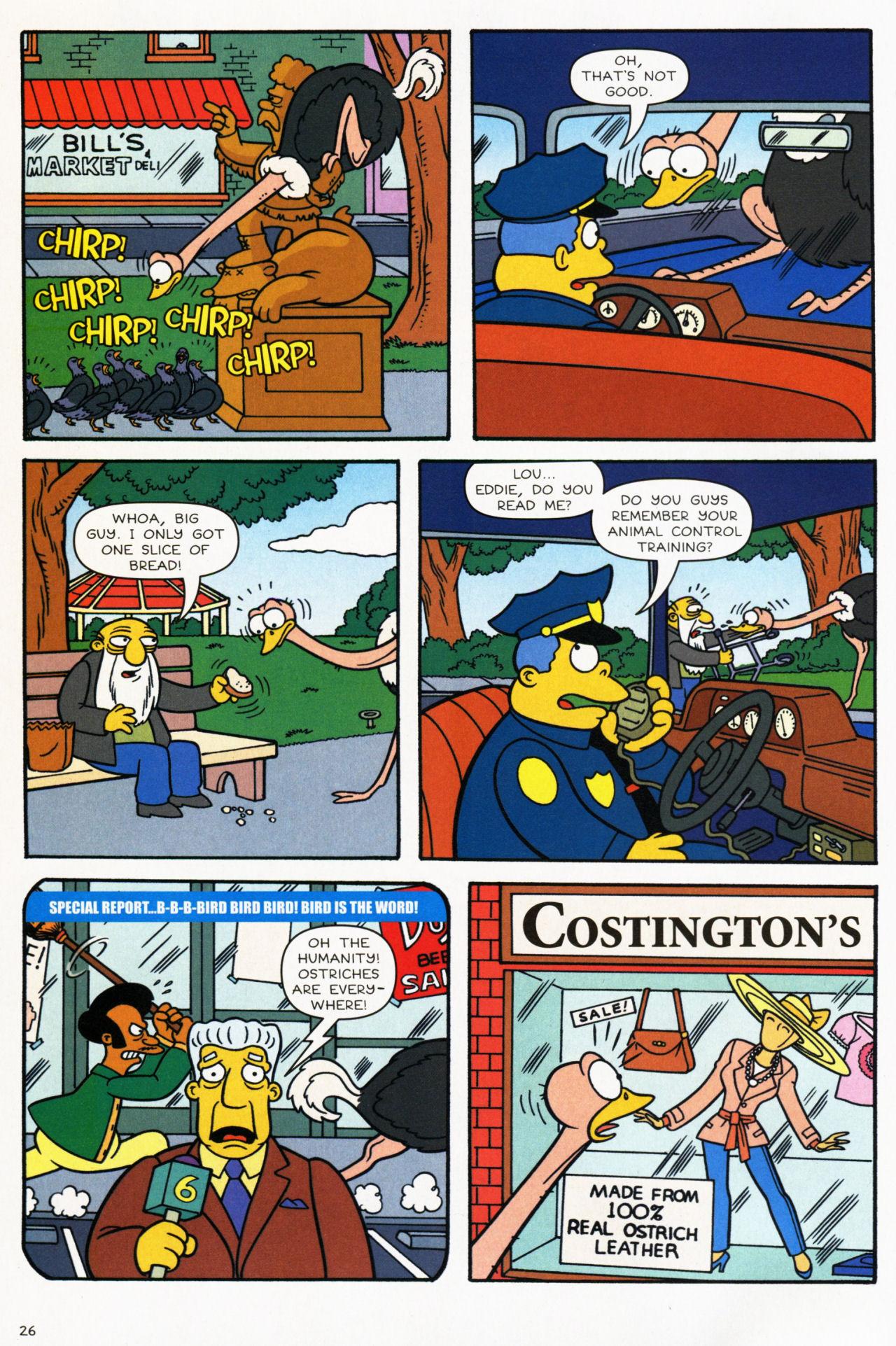 Read online Simpsons Comics comic -  Issue #139 - 22