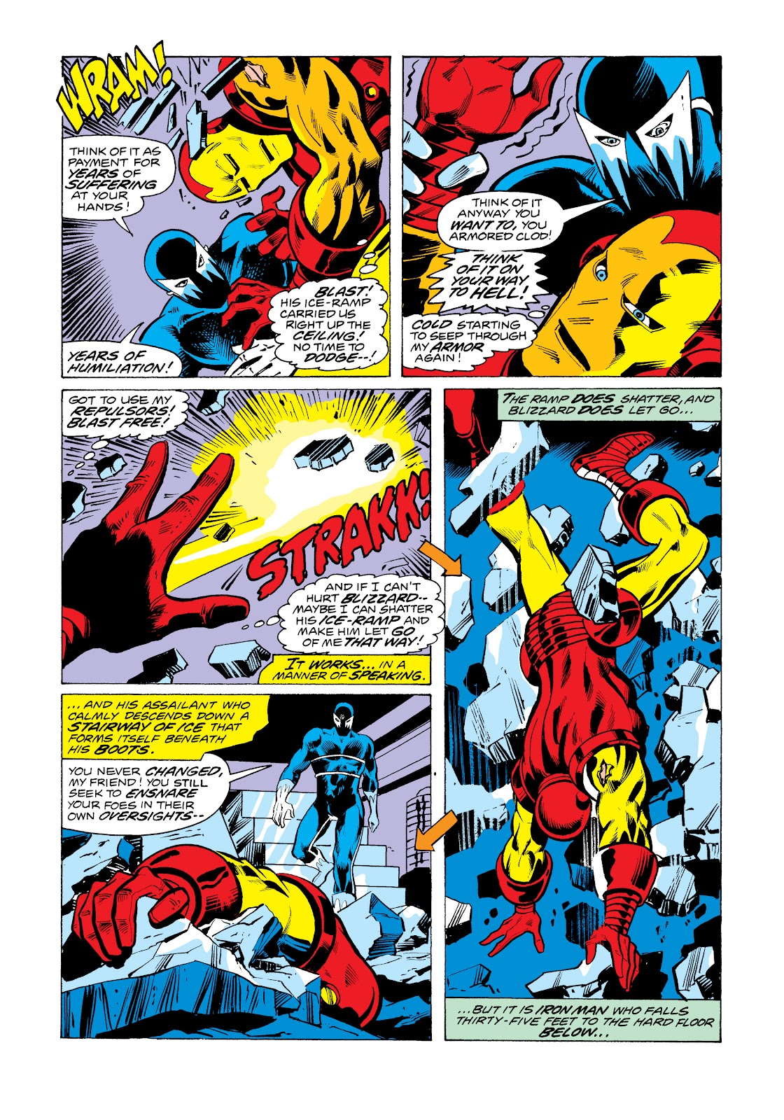 Read online Marvel Masterworks: The Invincible Iron Man comic -  Issue # TPB 11 (Part 1) - 100