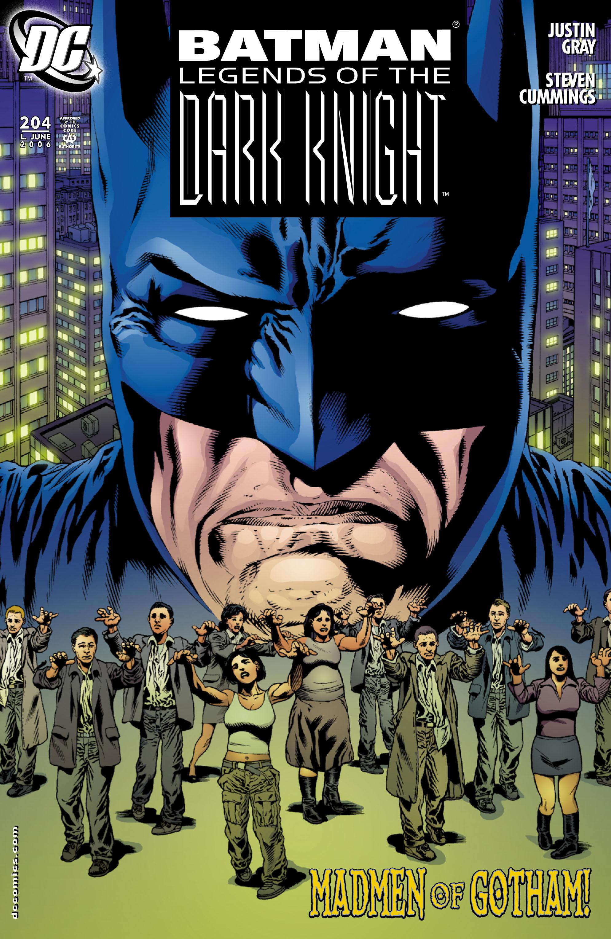 Batman: Legends of the Dark Knight 204 Page 1