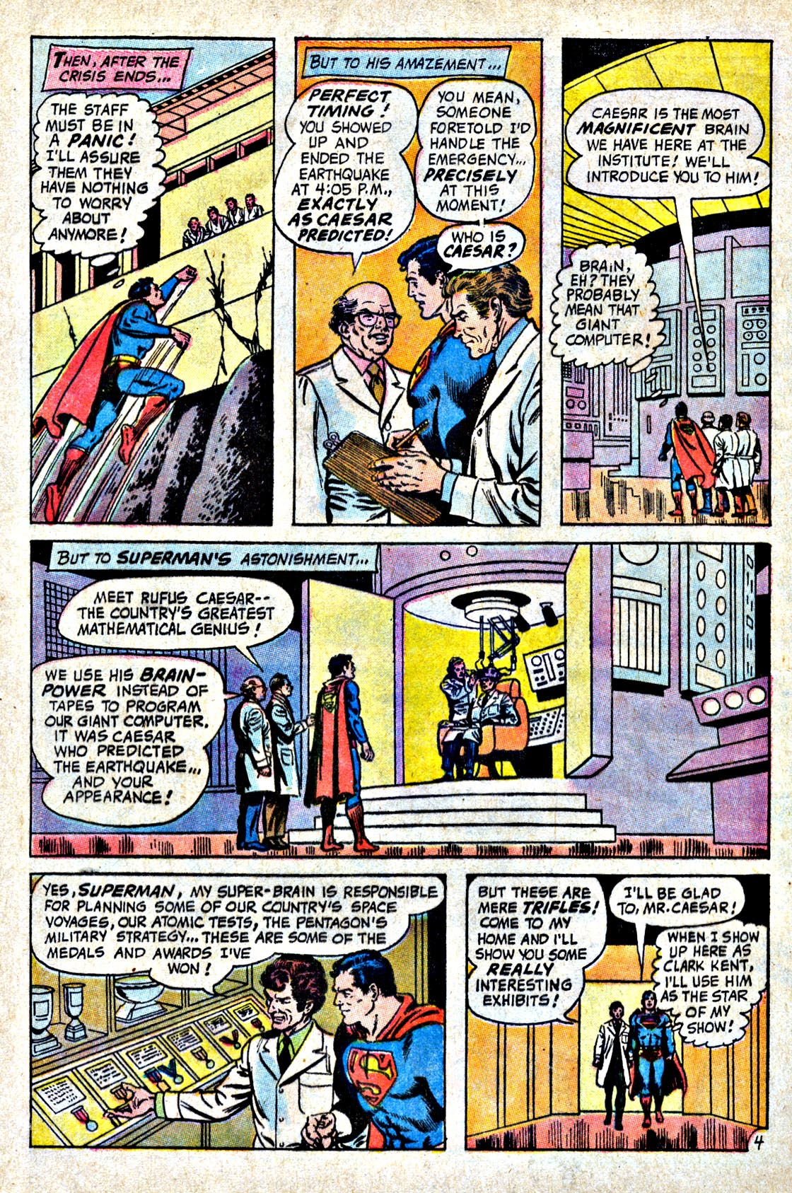Read online Action Comics (1938) comic -  Issue #404 - 6