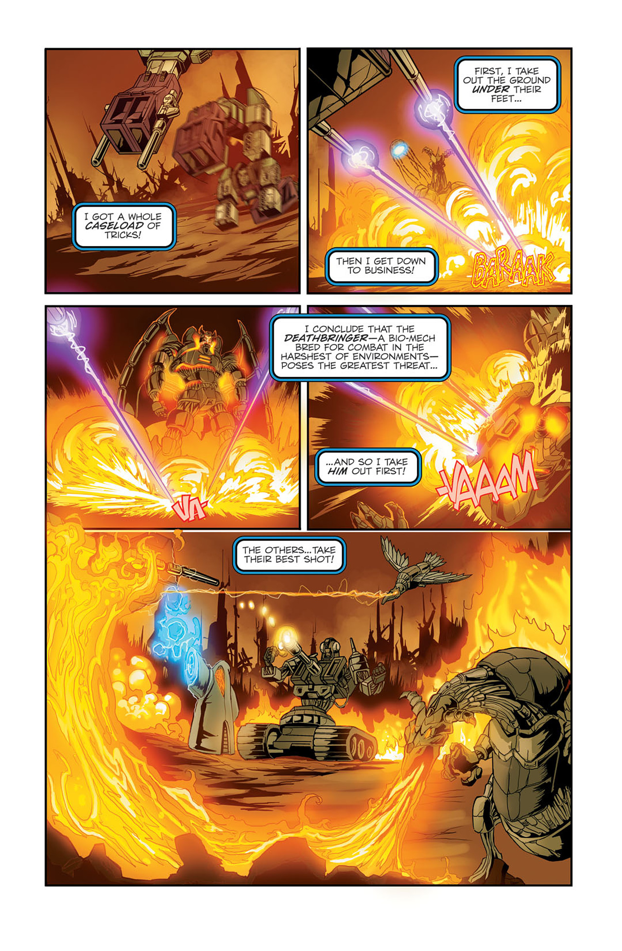 Read online Transformers Spotlight: Sixshot comic -  Issue # Full - 16