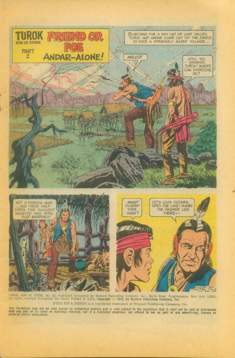 Read online Turok, Son of Stone comic -  Issue #82 - 3