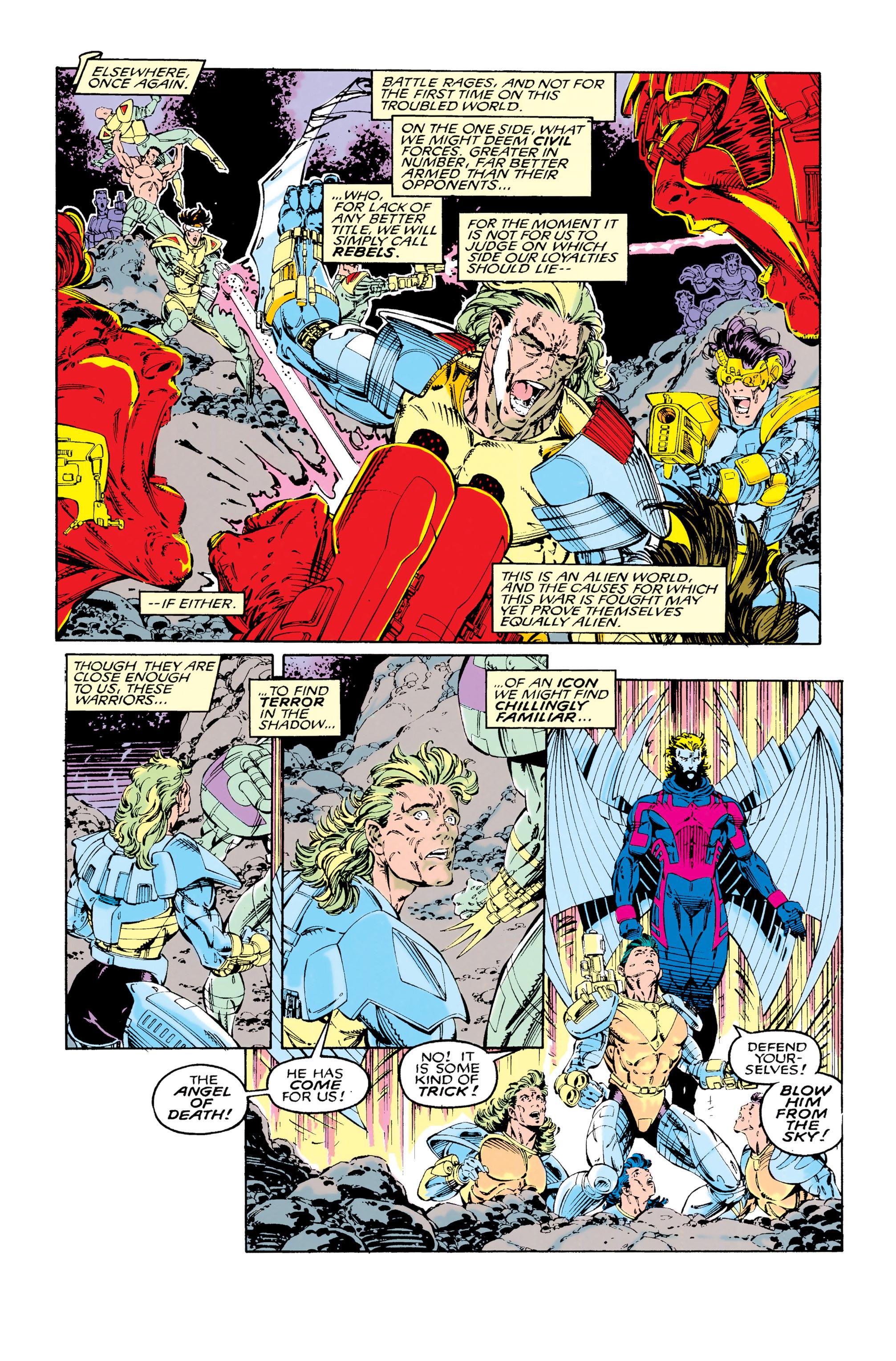 Read online Uncanny X-Men (1963) comic -  Issue #285 - 9