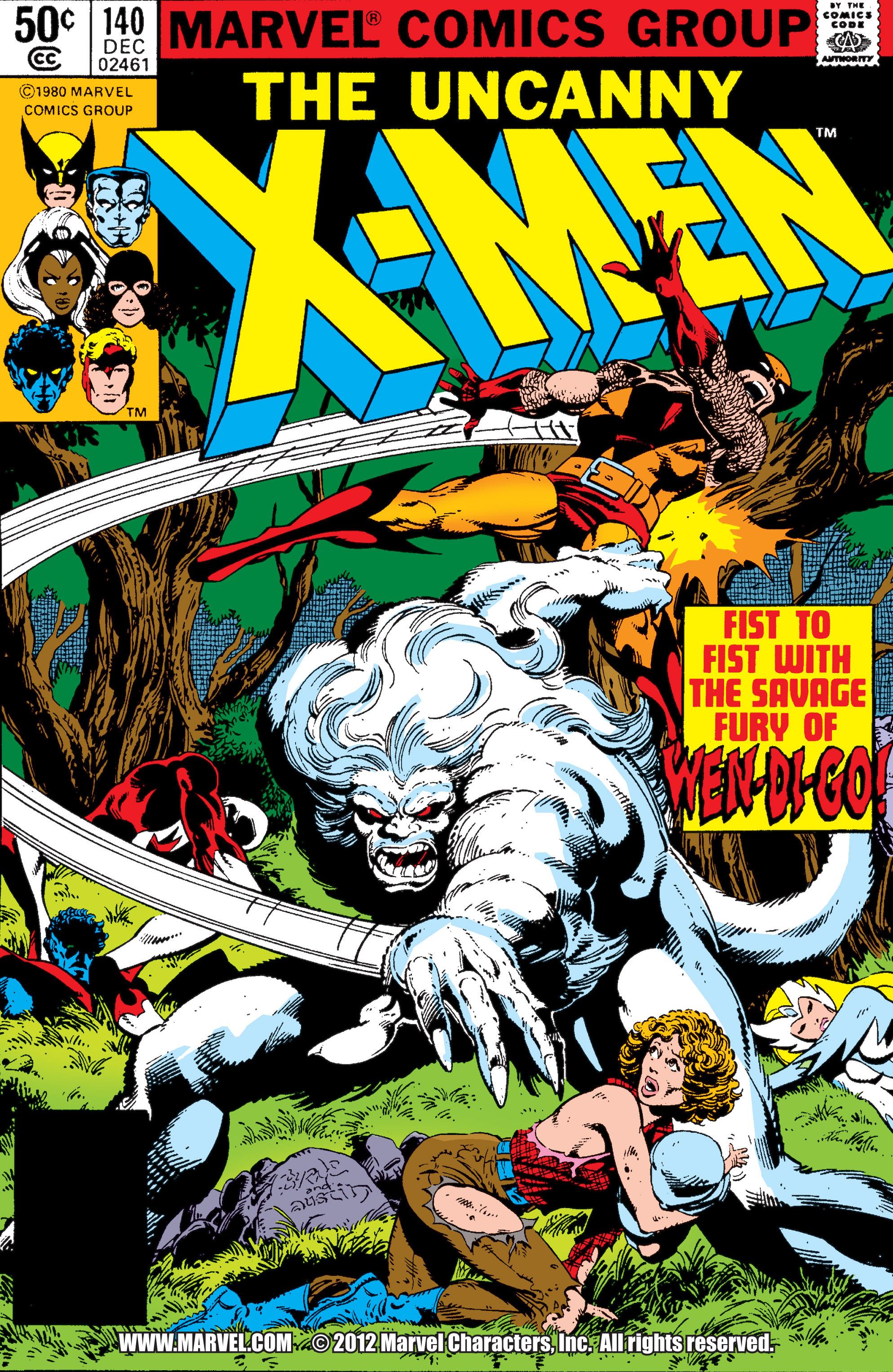 Read online Uncanny X-Men (1963) comic -  Issue #140 - 1
