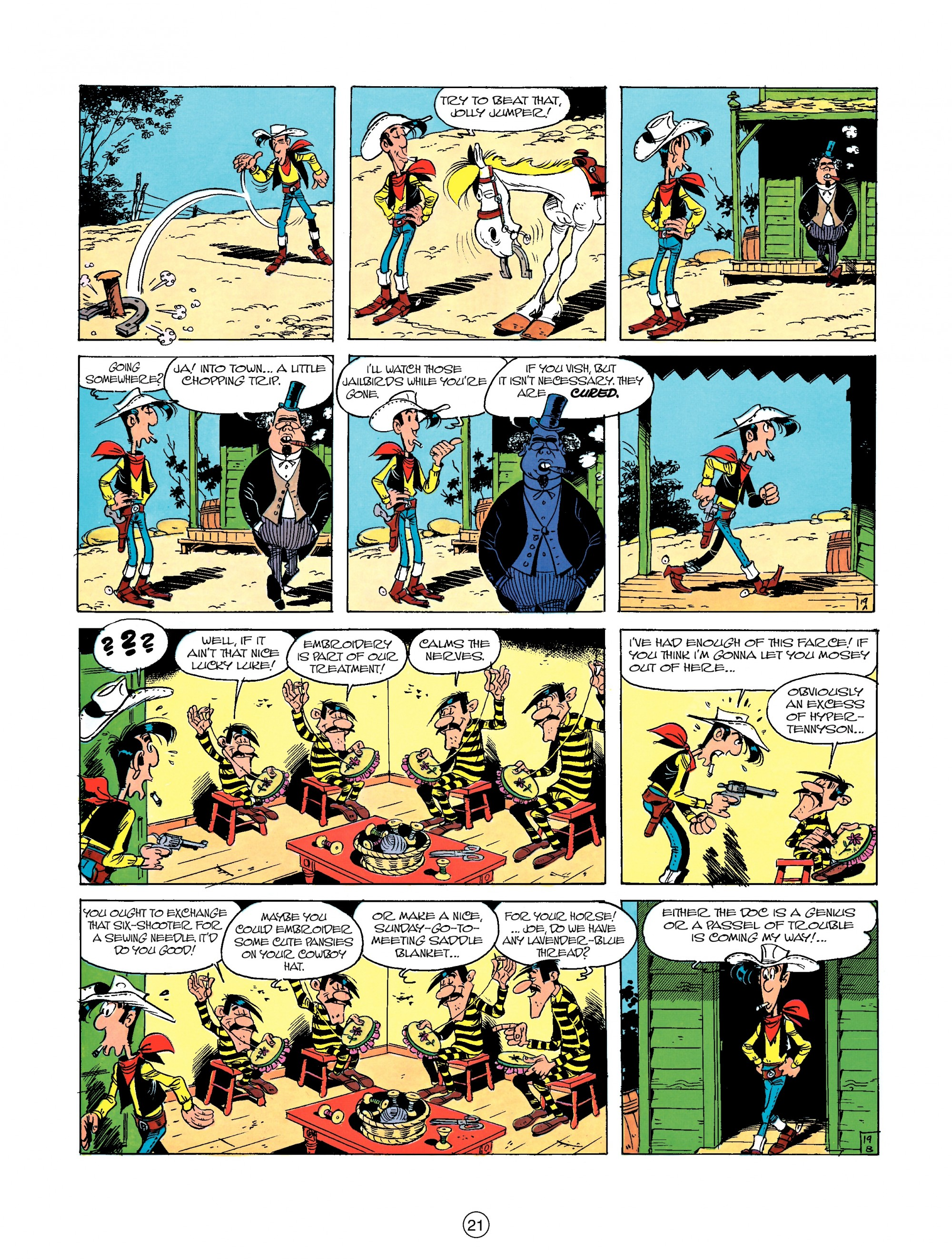 Read online A Lucky Luke Adventure comic -  Issue #23 - 21
