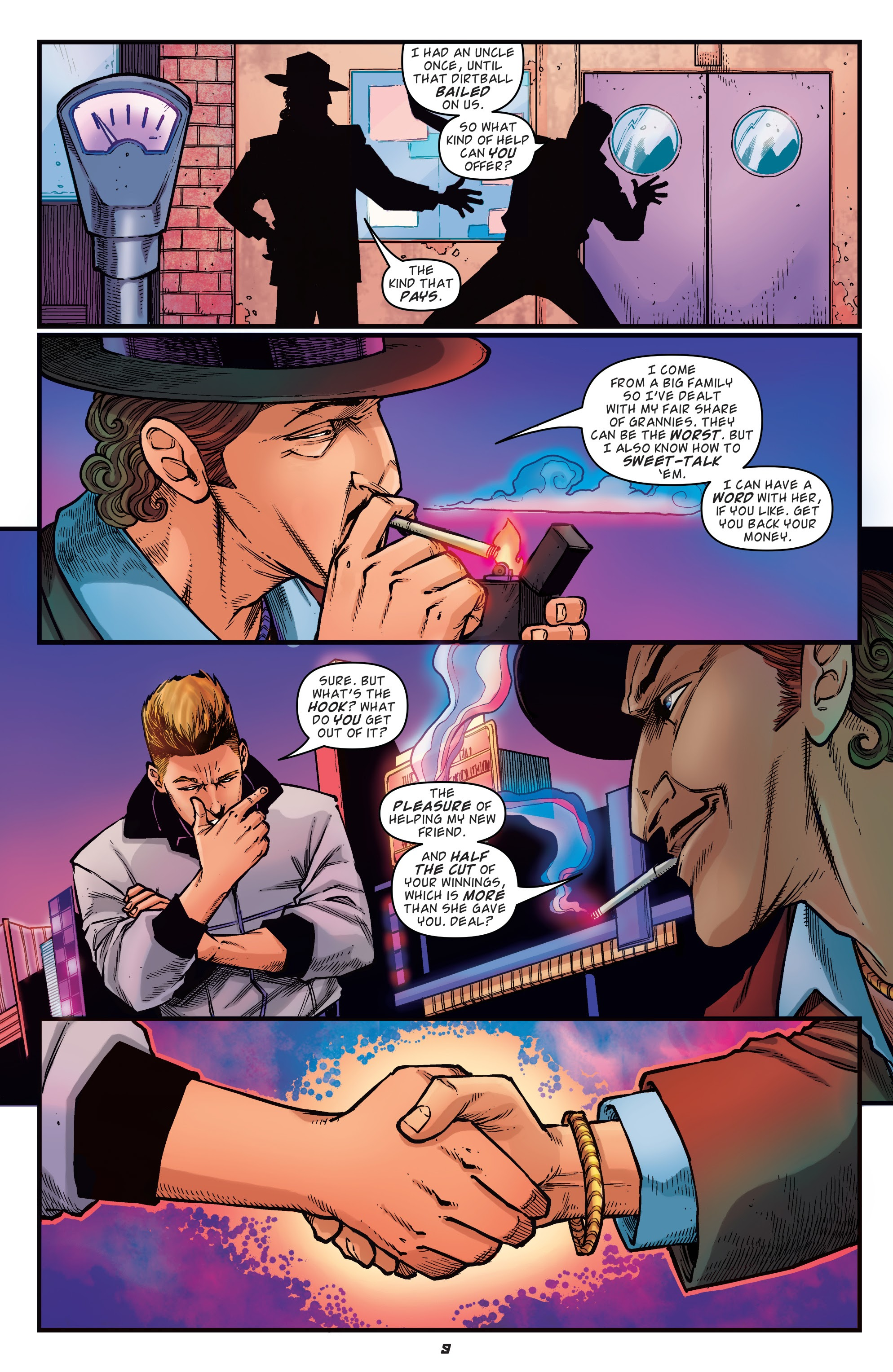 Read online Back to the Future: Biff to the Future comic -  Issue #1 - 11
