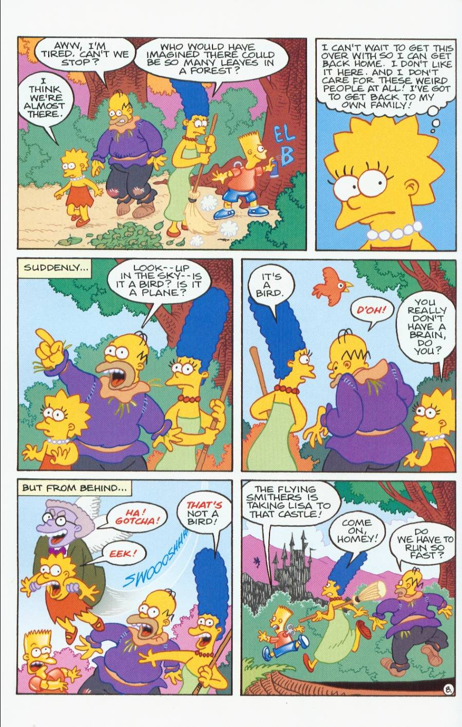 Read online Treehouse of Horror comic -  Issue #7 - 21