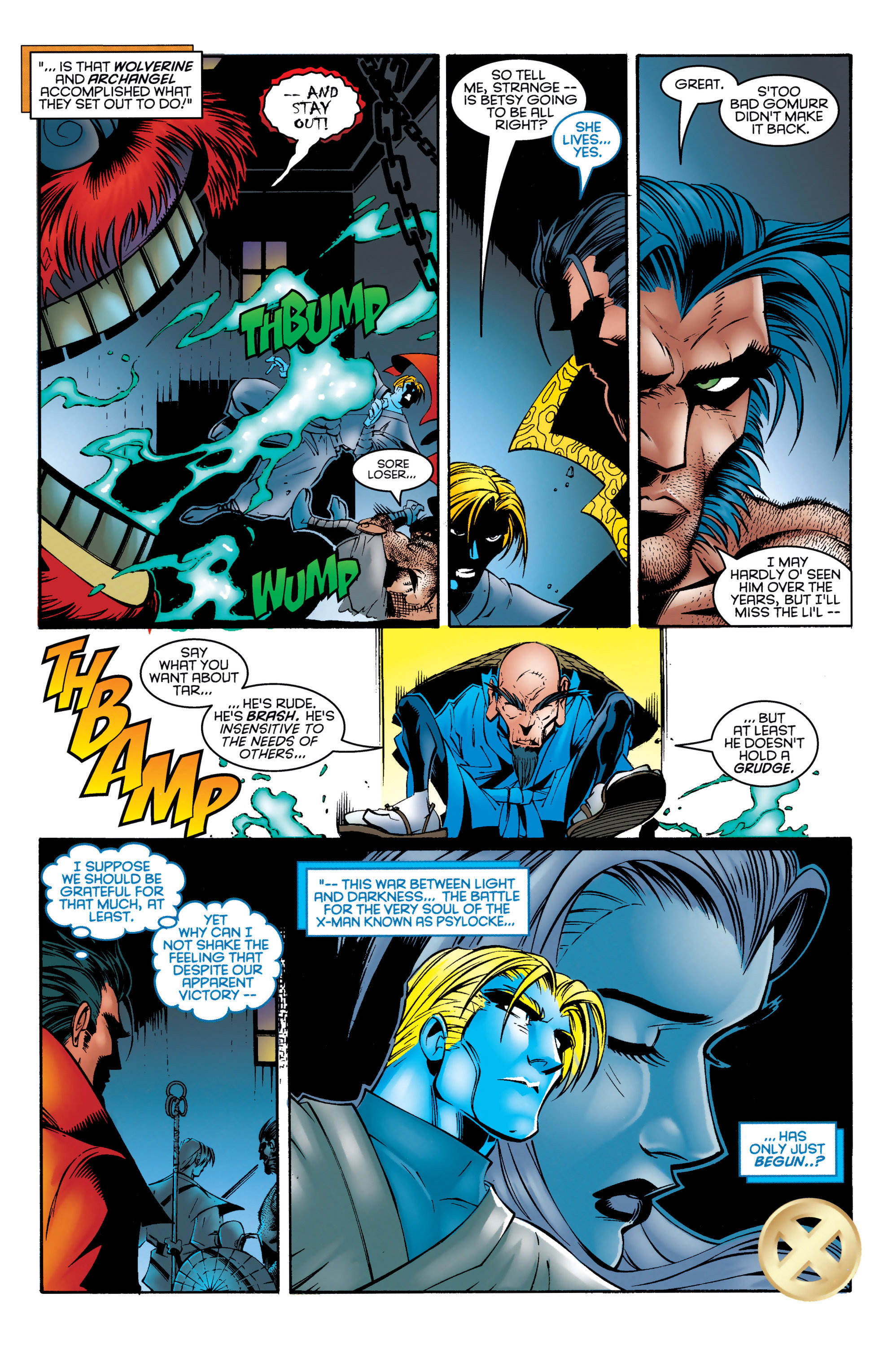 Read online Uncanny X-Men (1963) comic -  Issue #330 - 18