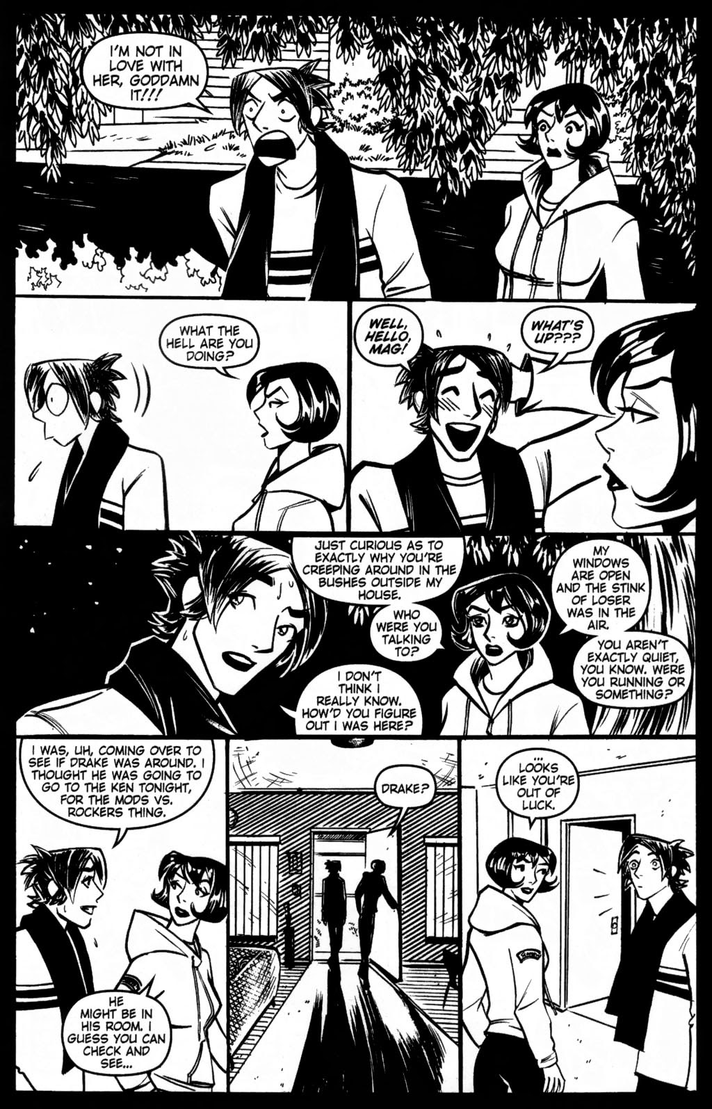 Read online Scooter Girl comic -  Issue #5 - 7
