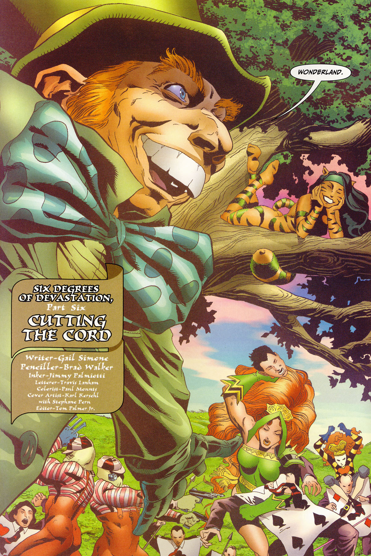 Read online Secret Six (2006) comic -  Issue #6 - 3