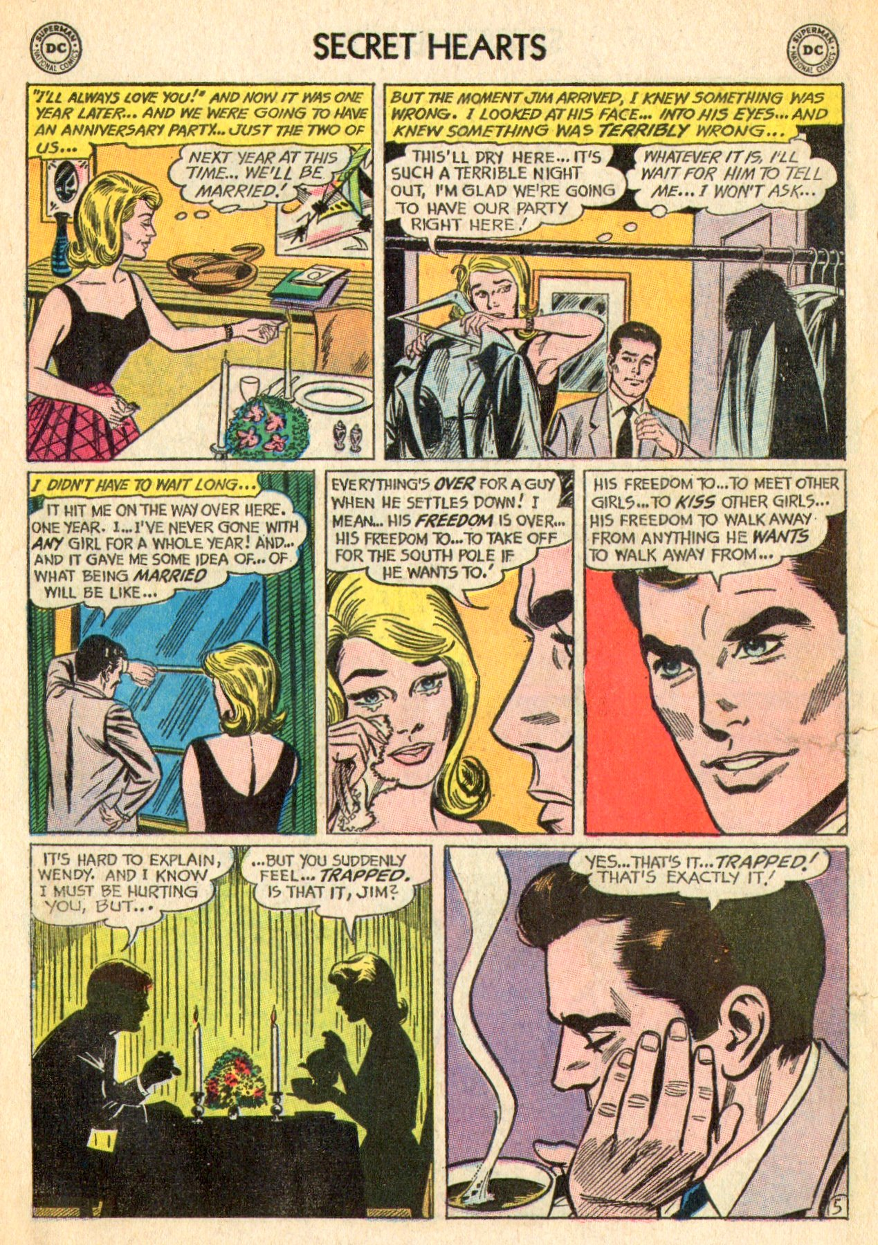 Read online Secret Hearts comic -  Issue #101 - 14