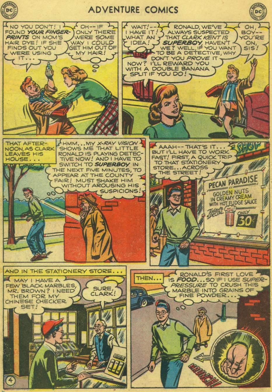 Read online Adventure Comics (1938) comic -  Issue #168 - 6