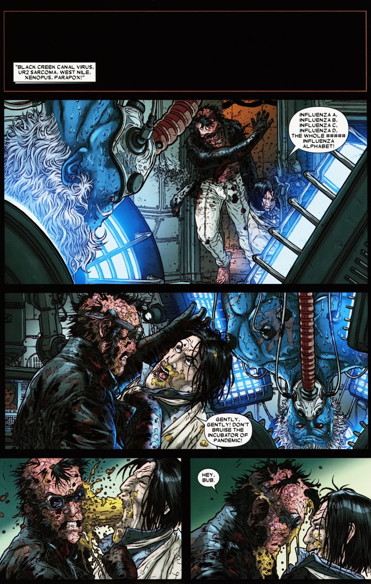 Read online Wolverine: The Best There Is comic -  Issue #6 - 22