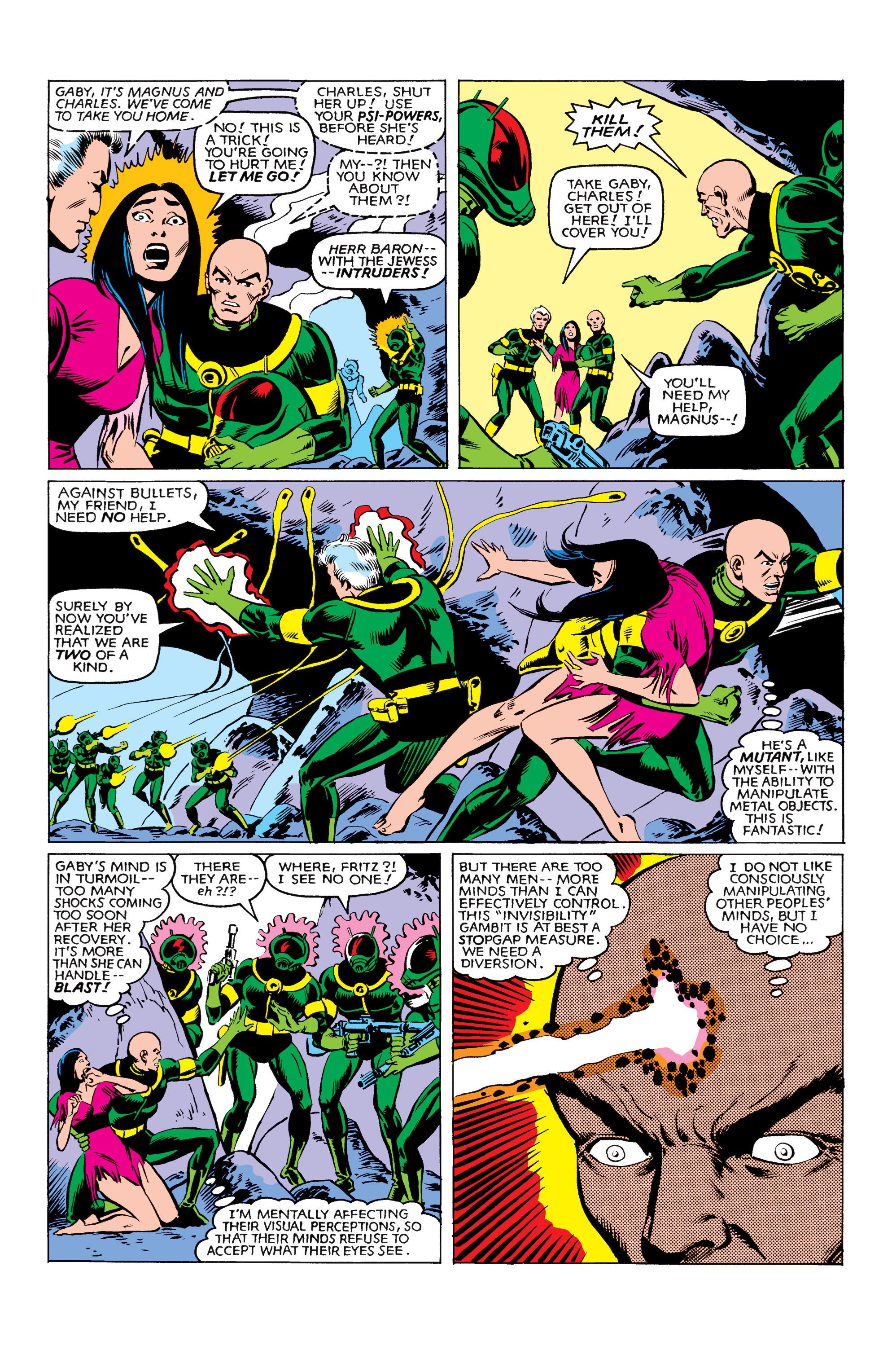 Read online Uncanny X-Men (1963) comic -  Issue #161 - 17