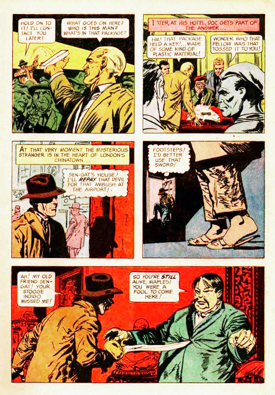 Read online Doc Savage (1966) comic -  Issue # Full - 5
