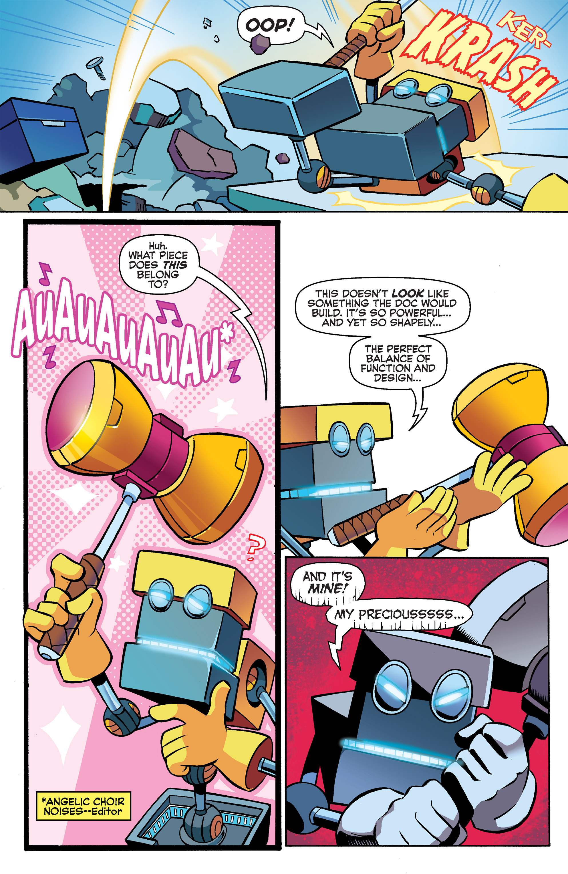 Read online Sonic Boom comic -  Issue #3 - 11