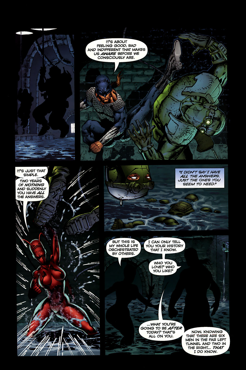 Read online Ant comic -  Issue #10 - 13