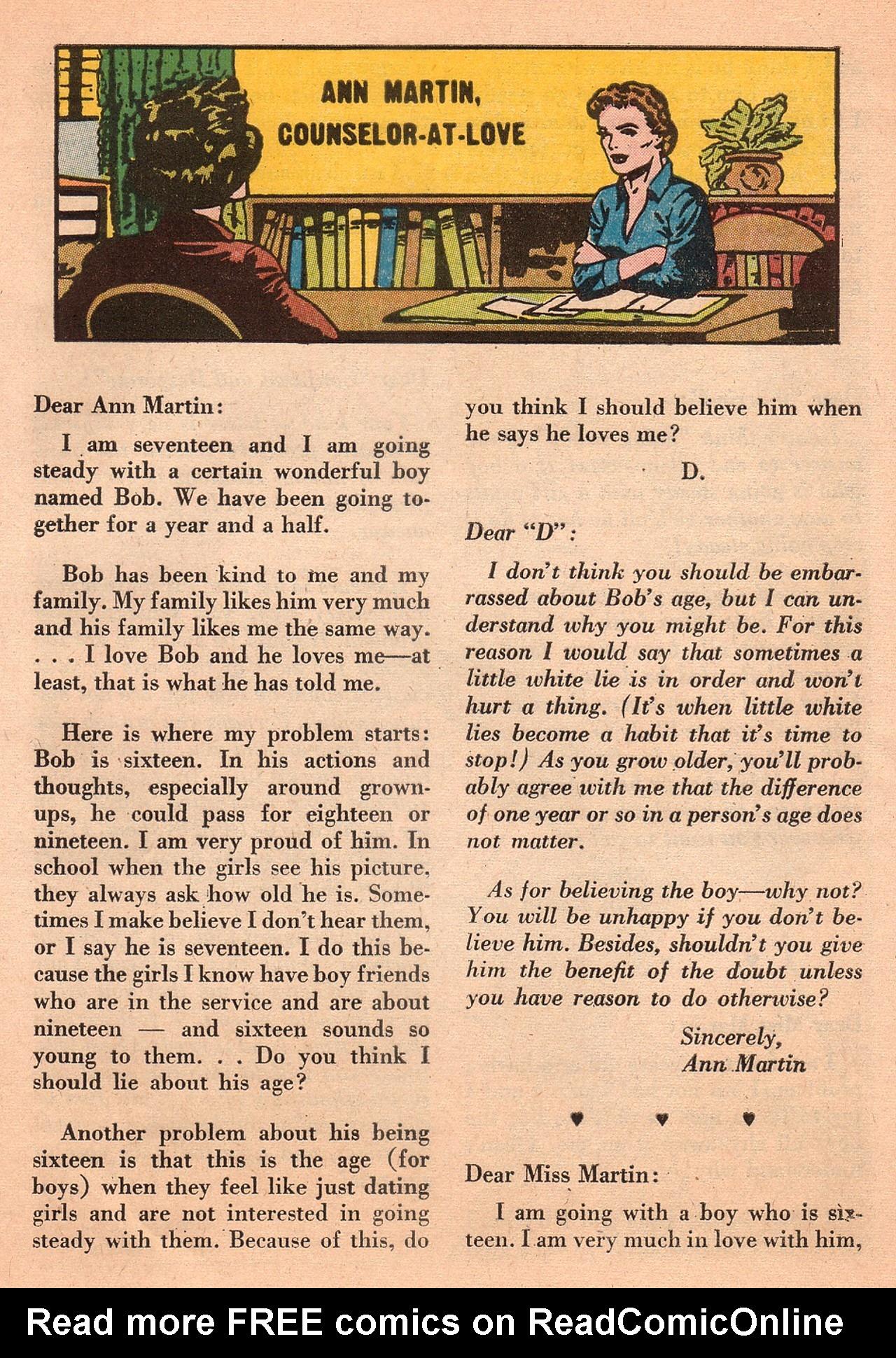 Read online Secret Hearts comic -  Issue #74 - 25
