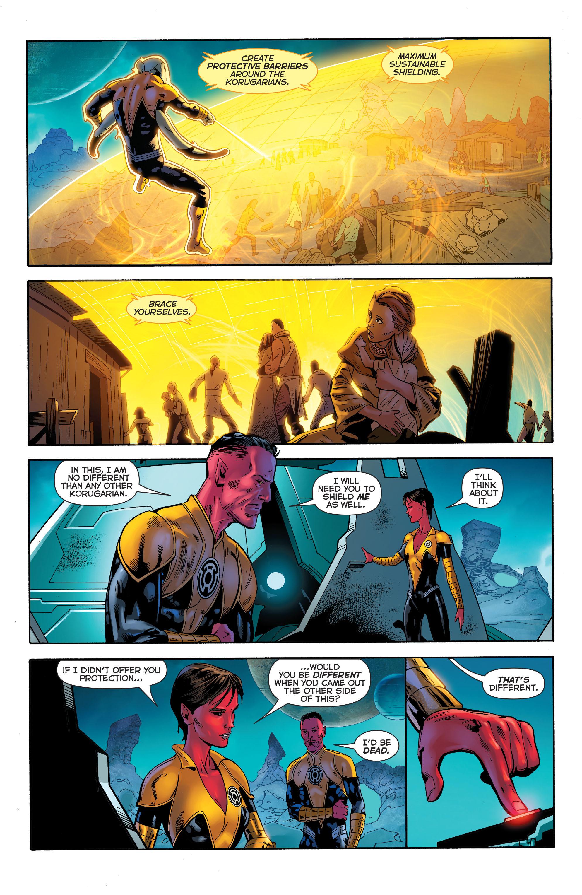 Read online Sinestro comic -  Issue #23 - 14