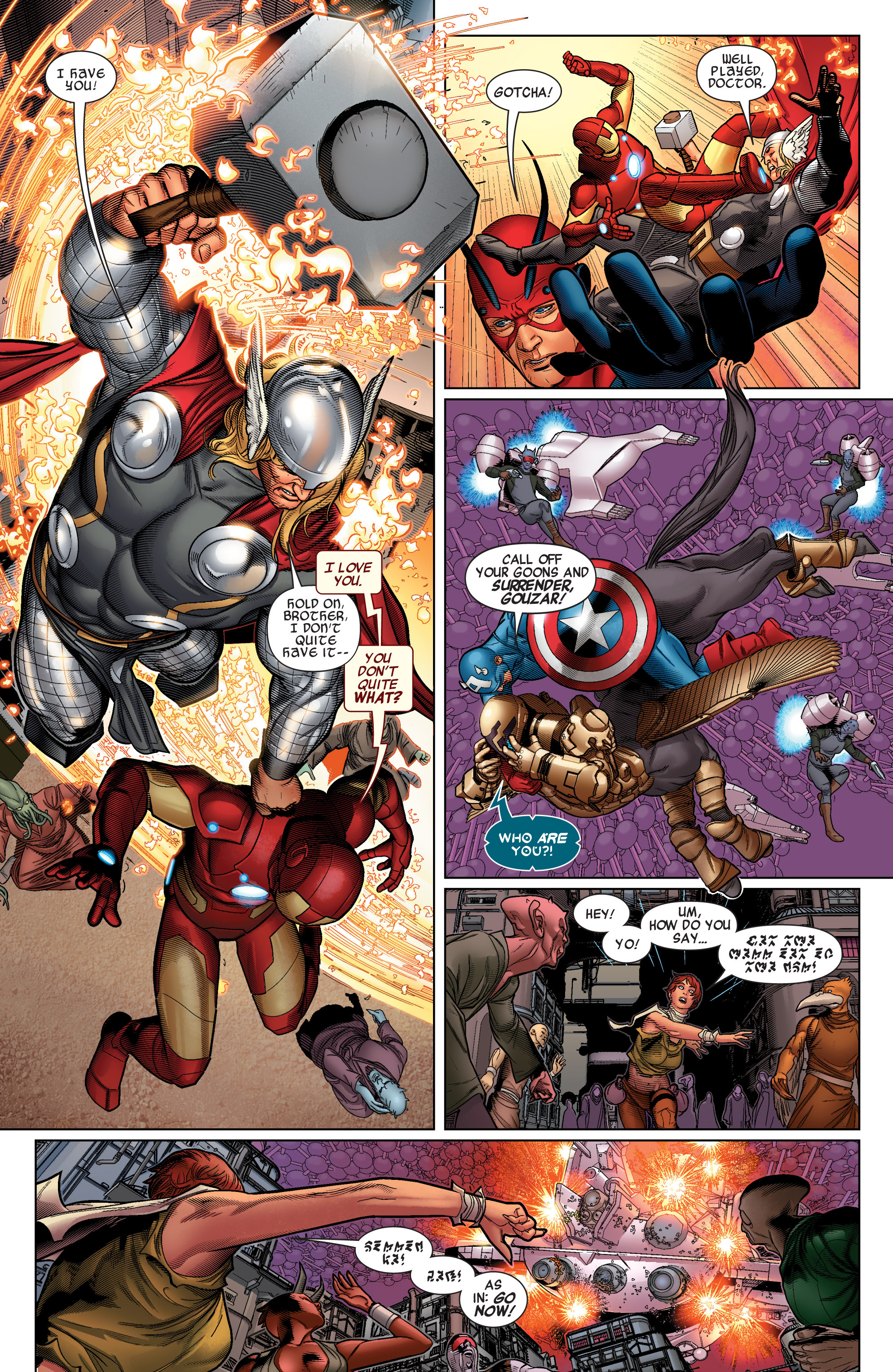 Read online Avengers (2010) comic -  Issue #34 - 11