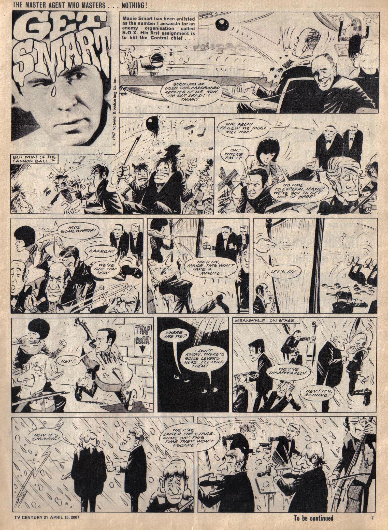 Read online TV Century 21 (TV 21) comic -  Issue #117 - 7