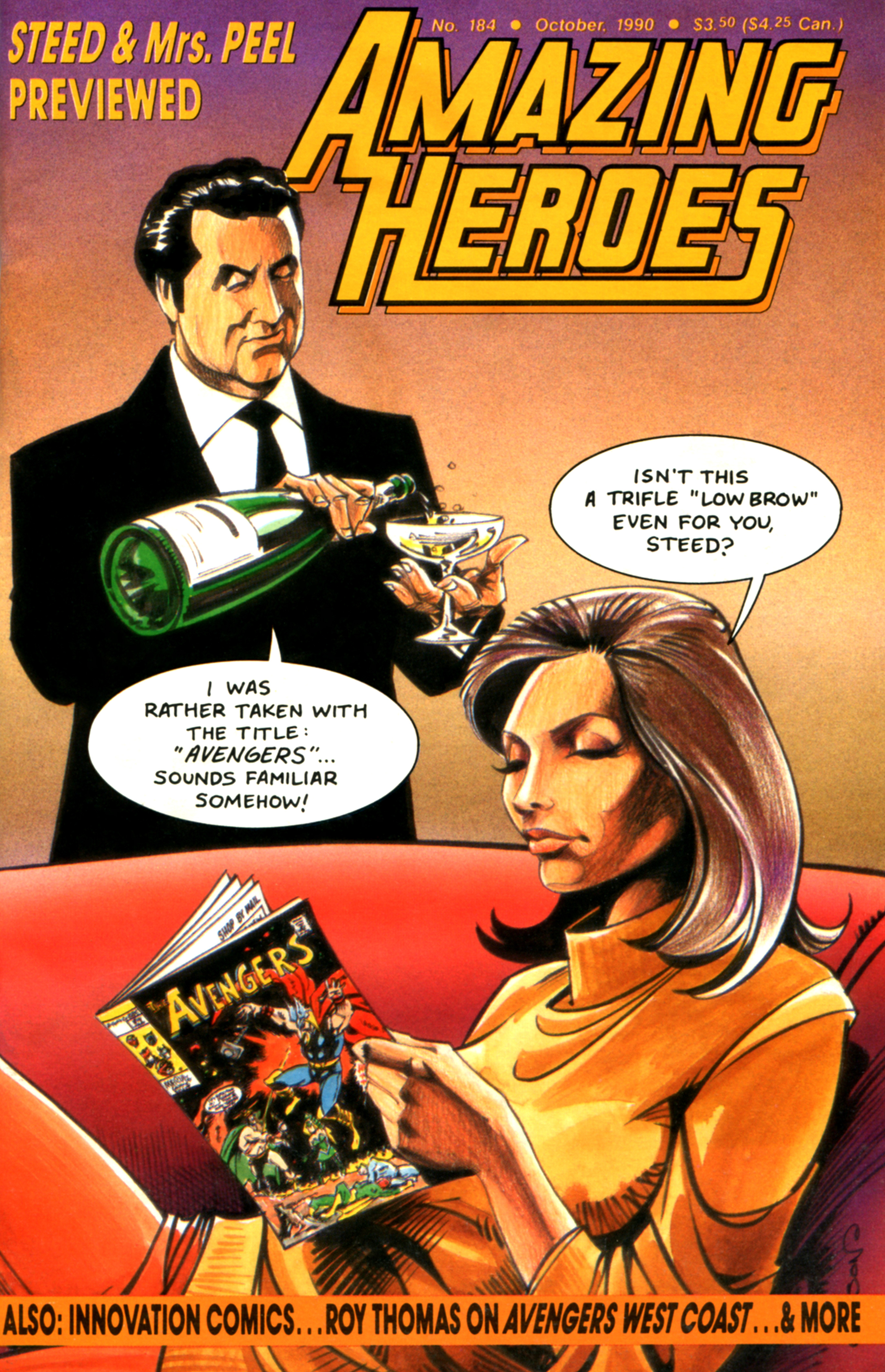 Read online Amazing Heroes comic -  Issue #184 - 1