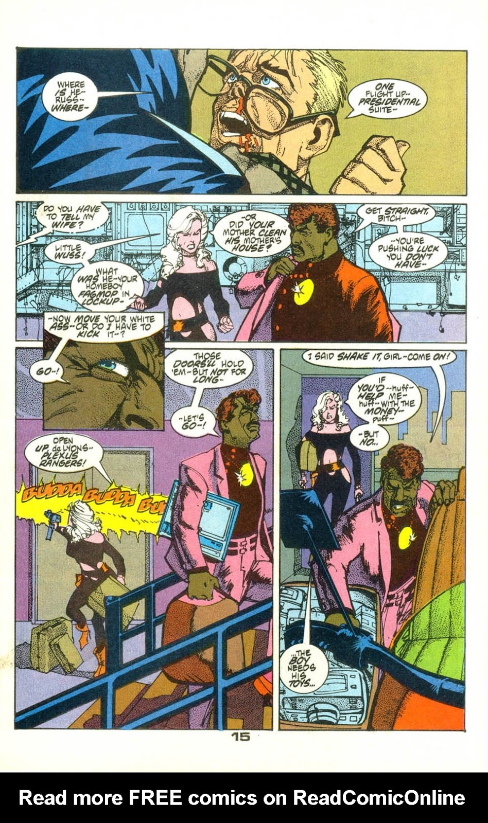 American Flagg! issue 22 - Page 17
