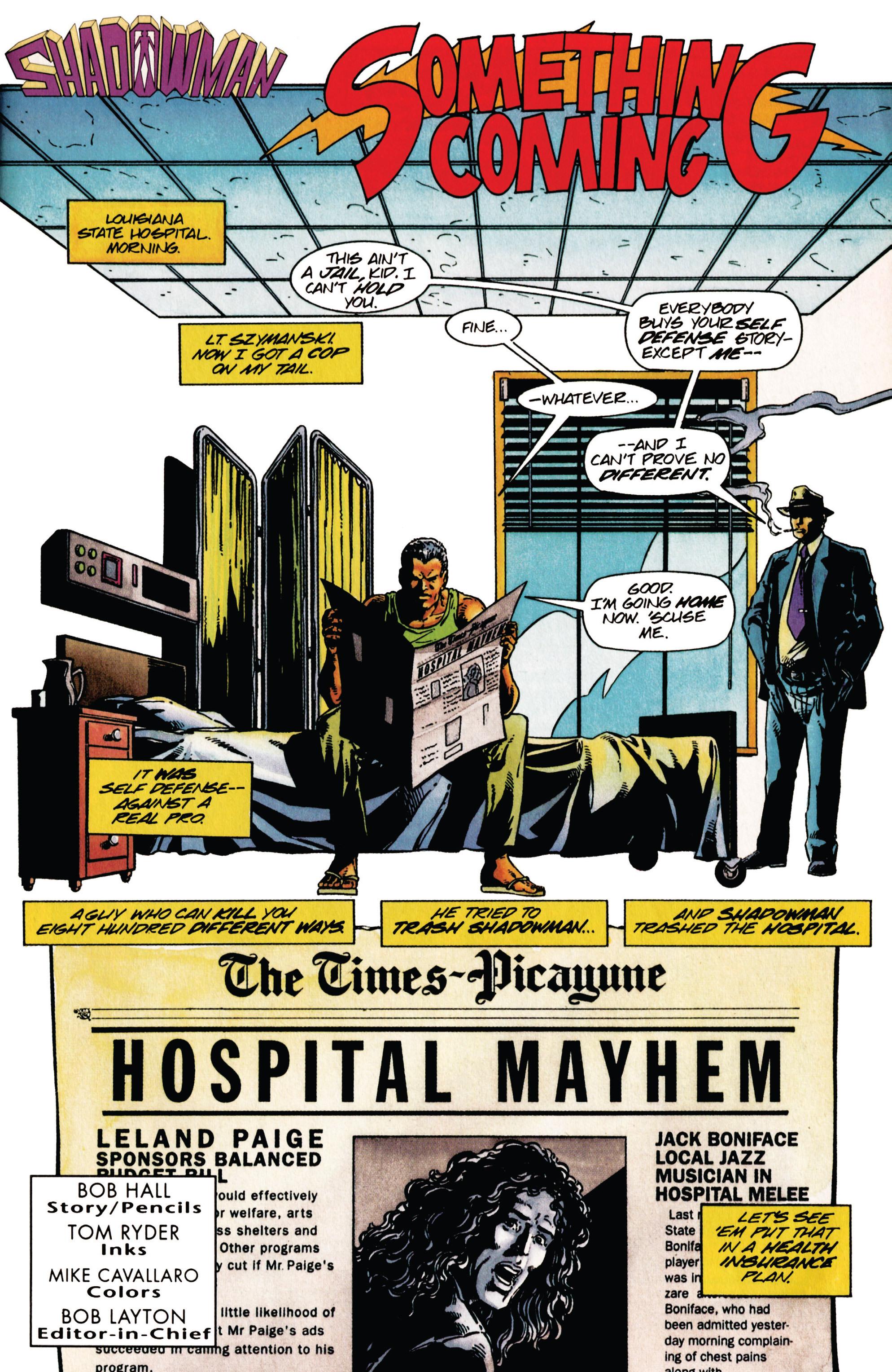 Read online Shadowman (1992) comic -  Issue #28 - 2