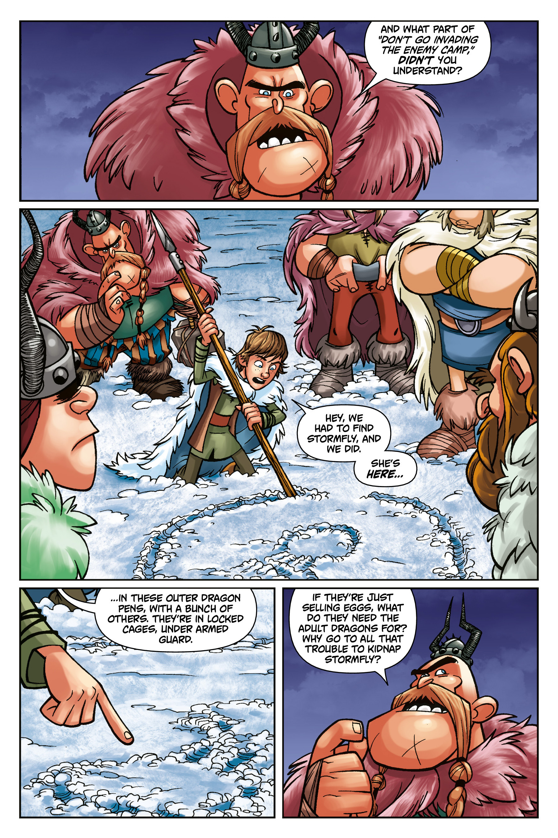 DreamWorks Dragons: Riders of Berk #3 - Read DreamWorks Dragons