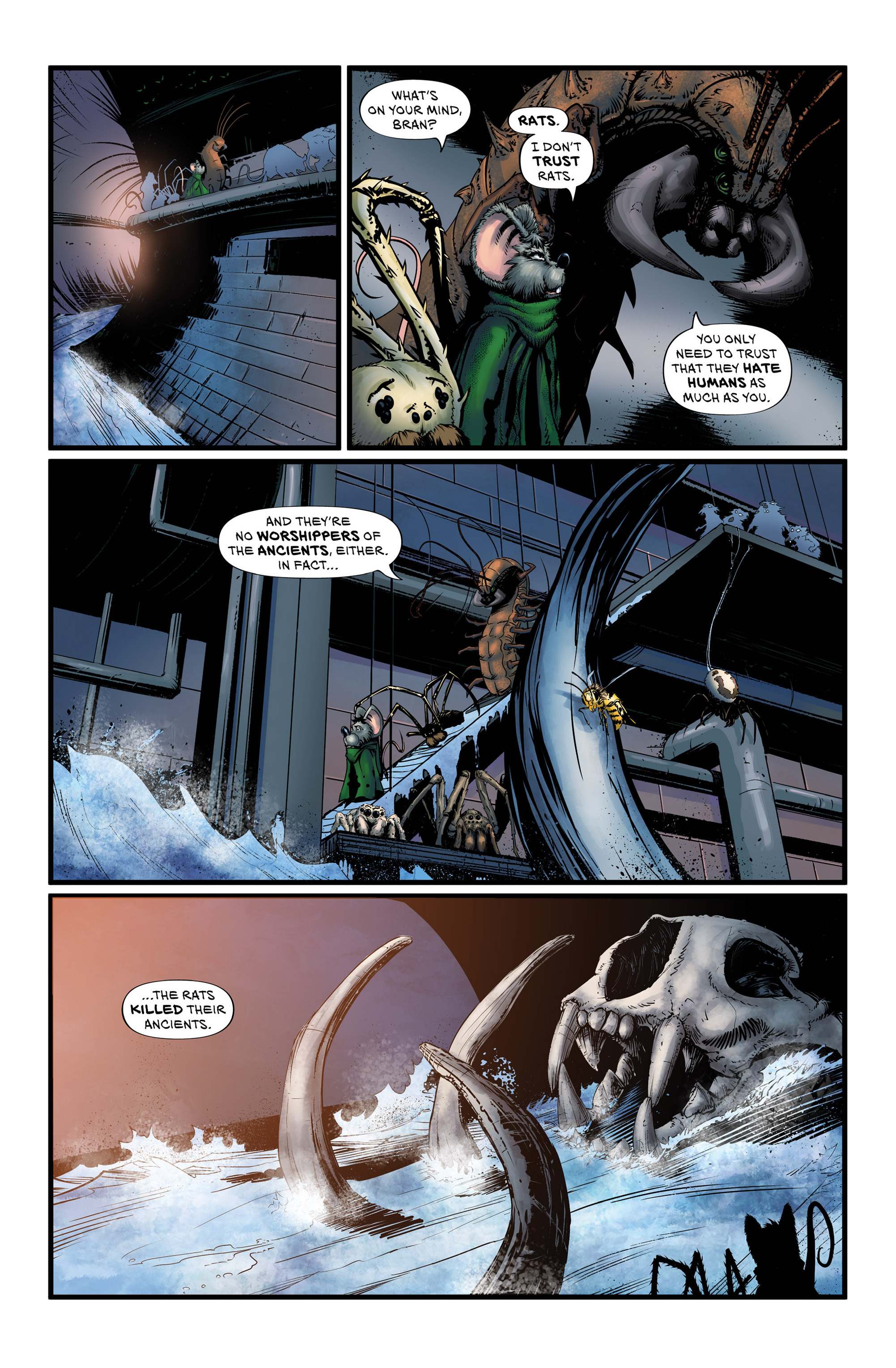 Read online Wretched Things comic -  Issue #3 - 8