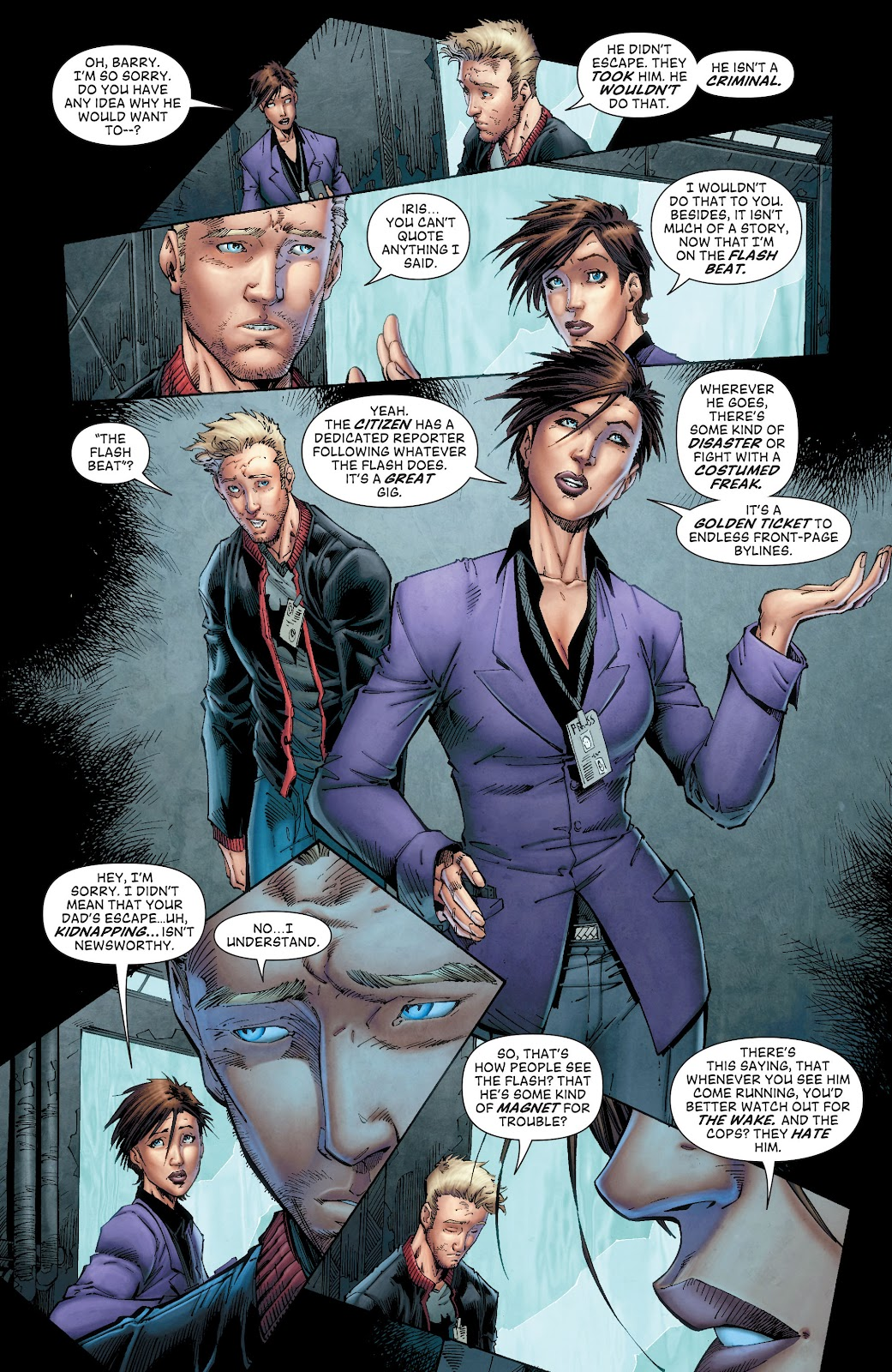 Read online The Flash (2011) comic -  Issue # _TPB 8 (Part 1) - 31